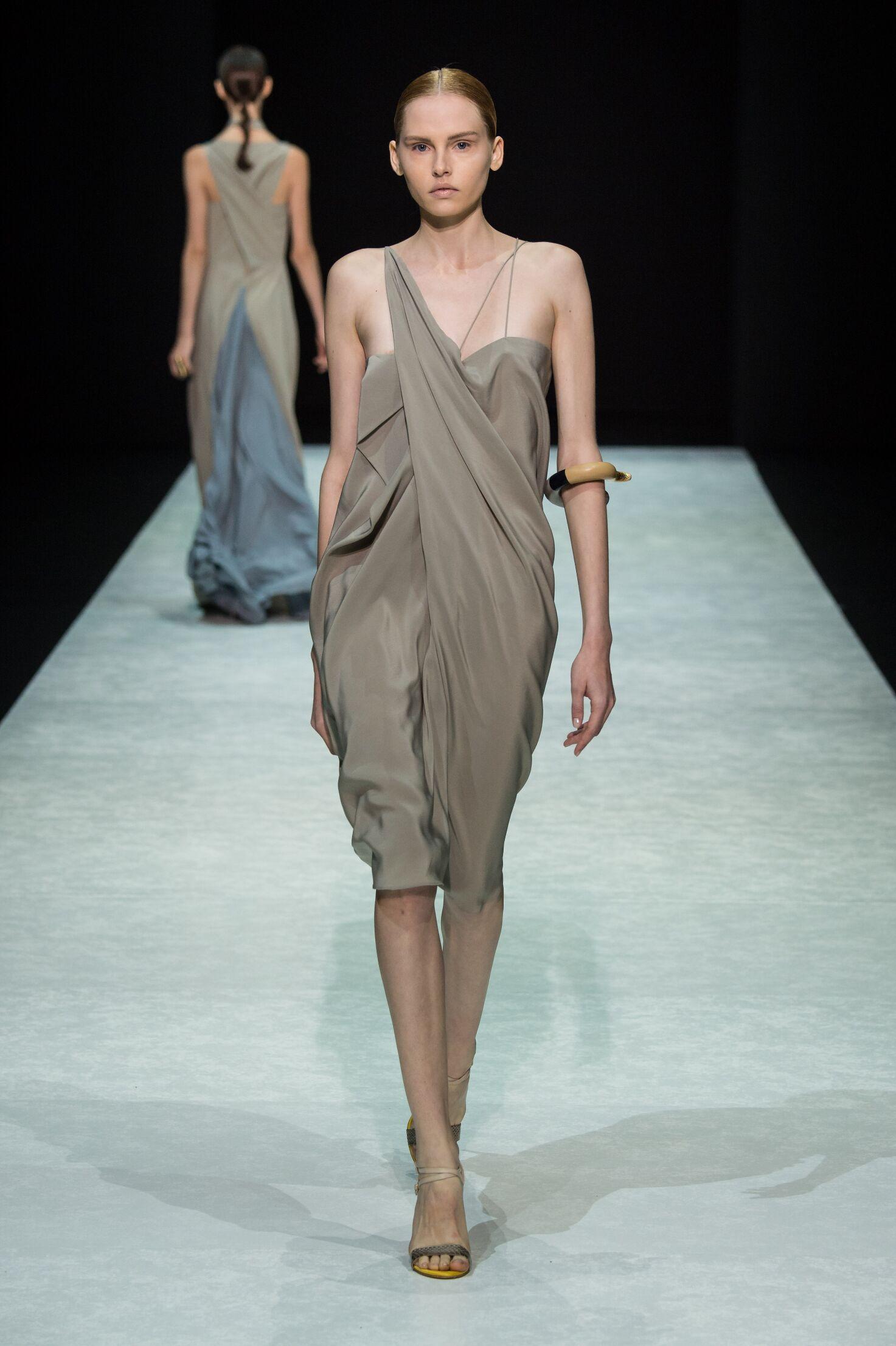 Runway Angelos Bratis Spring Summer 2015 Women's Collection Milan Fashion Week