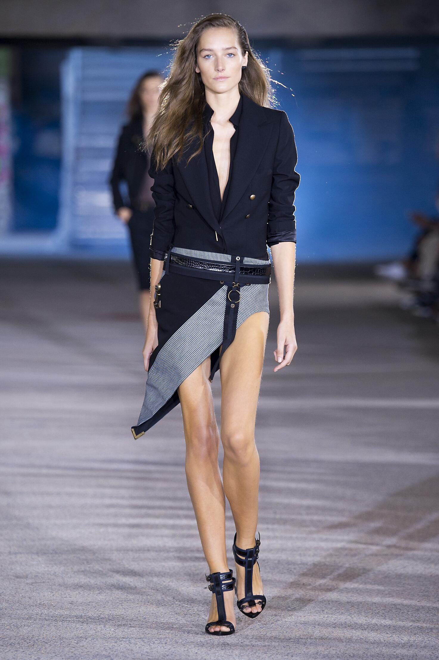 Runway Anthony Vaccarello Spring Summer 2015 Women's Collection Paris Fashion Week