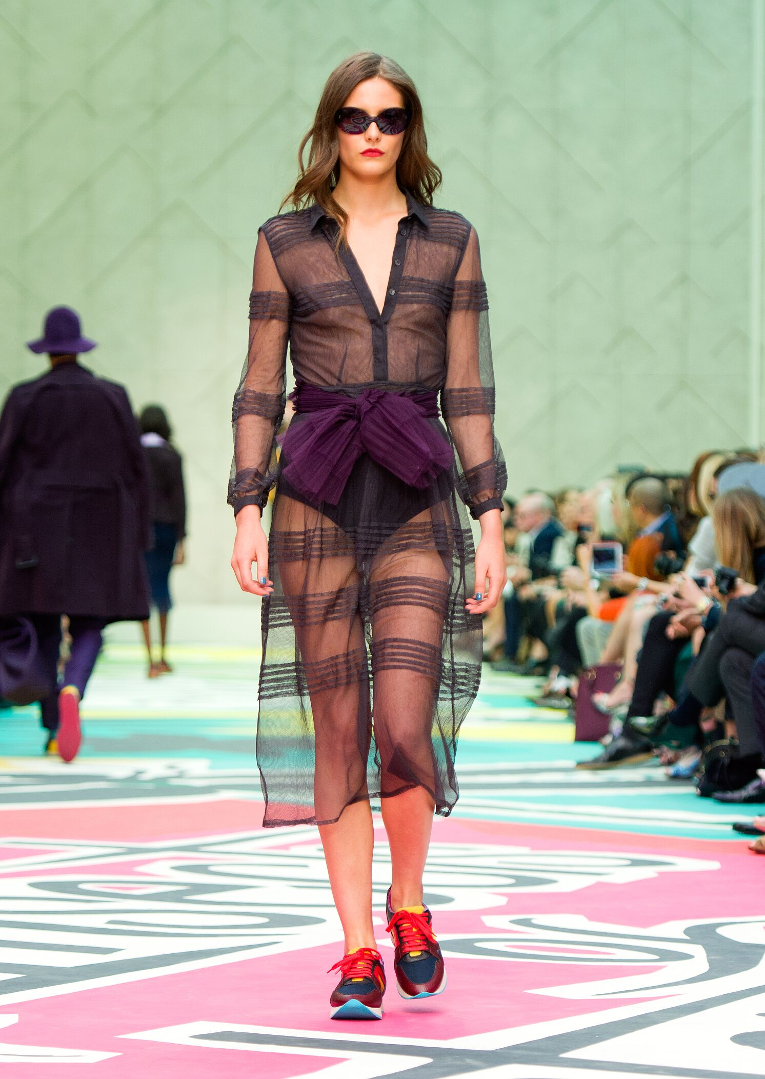 Runway Burberry Prorsum Spring Summer 2015 Women's Collection London Fashion Week