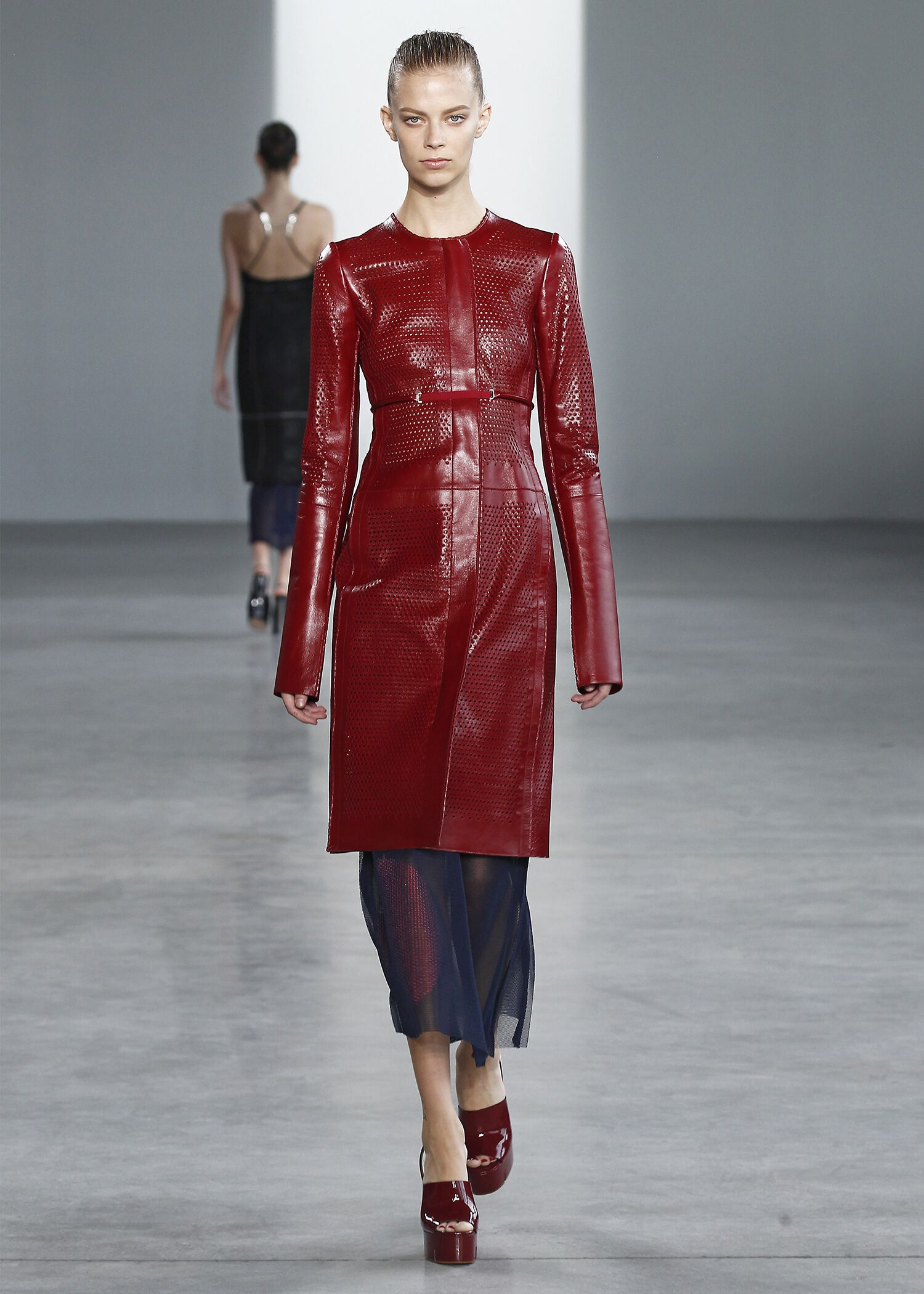 Runway Calvin Klein Collection Spring 2015 Women New York Fashion Week