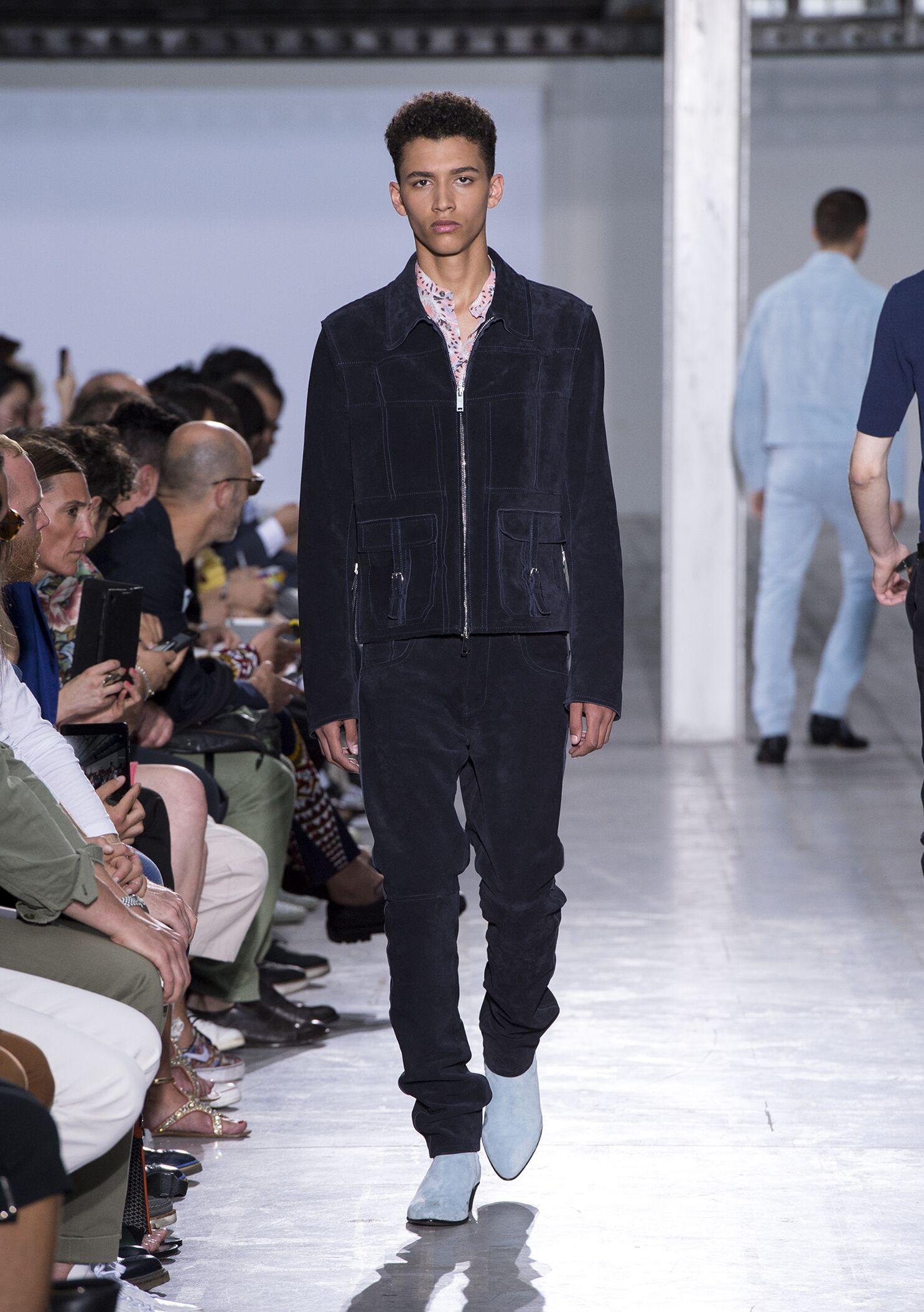 Runway Costume National Spring Summer 2015 Men's Collection Milan Fashion Week