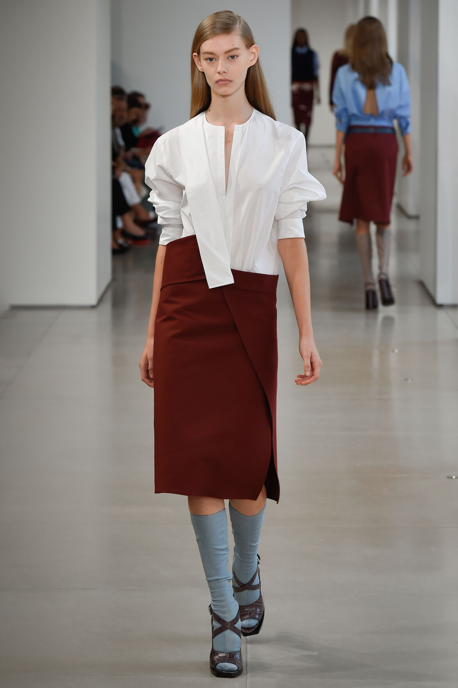Runway Jil Sander Spring Summer 2015 Women's Collection Milan Fashion Week