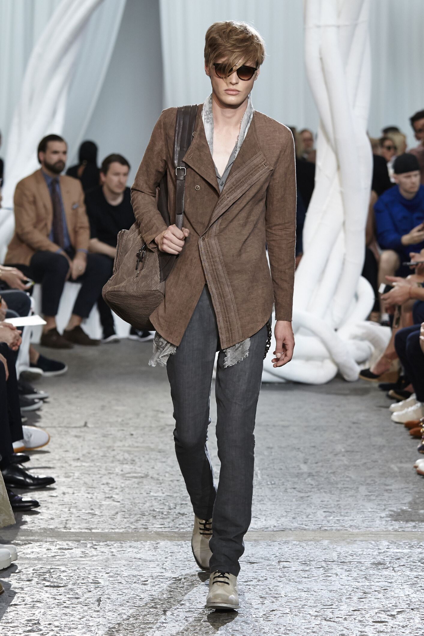 Runway John Varvatos Spring Summer 2015 Men's Collection Milan Fashion Week