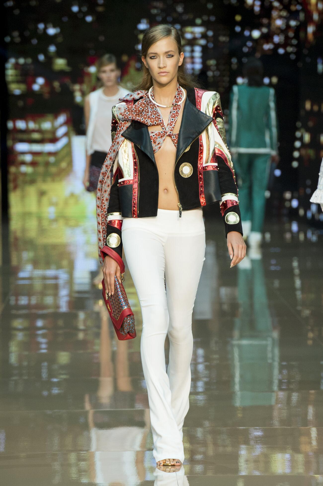 Runway Just Cavalli Spring Summer 2015 Women's Collection Milan Fashion Week