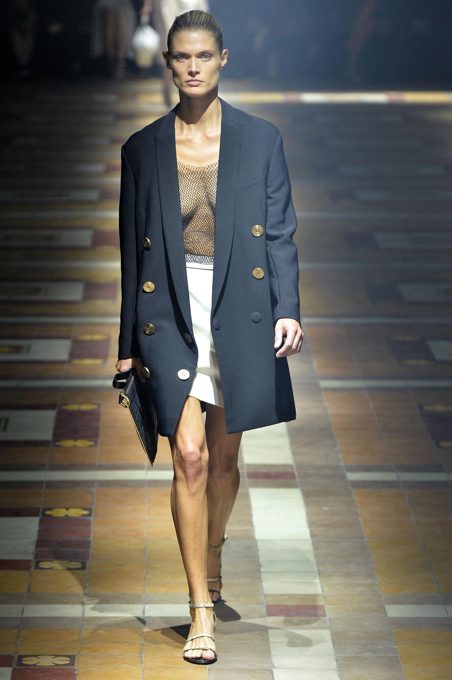 Runway Lanvin Spring Summer 2015 Women's Collection Paris Fashion Week