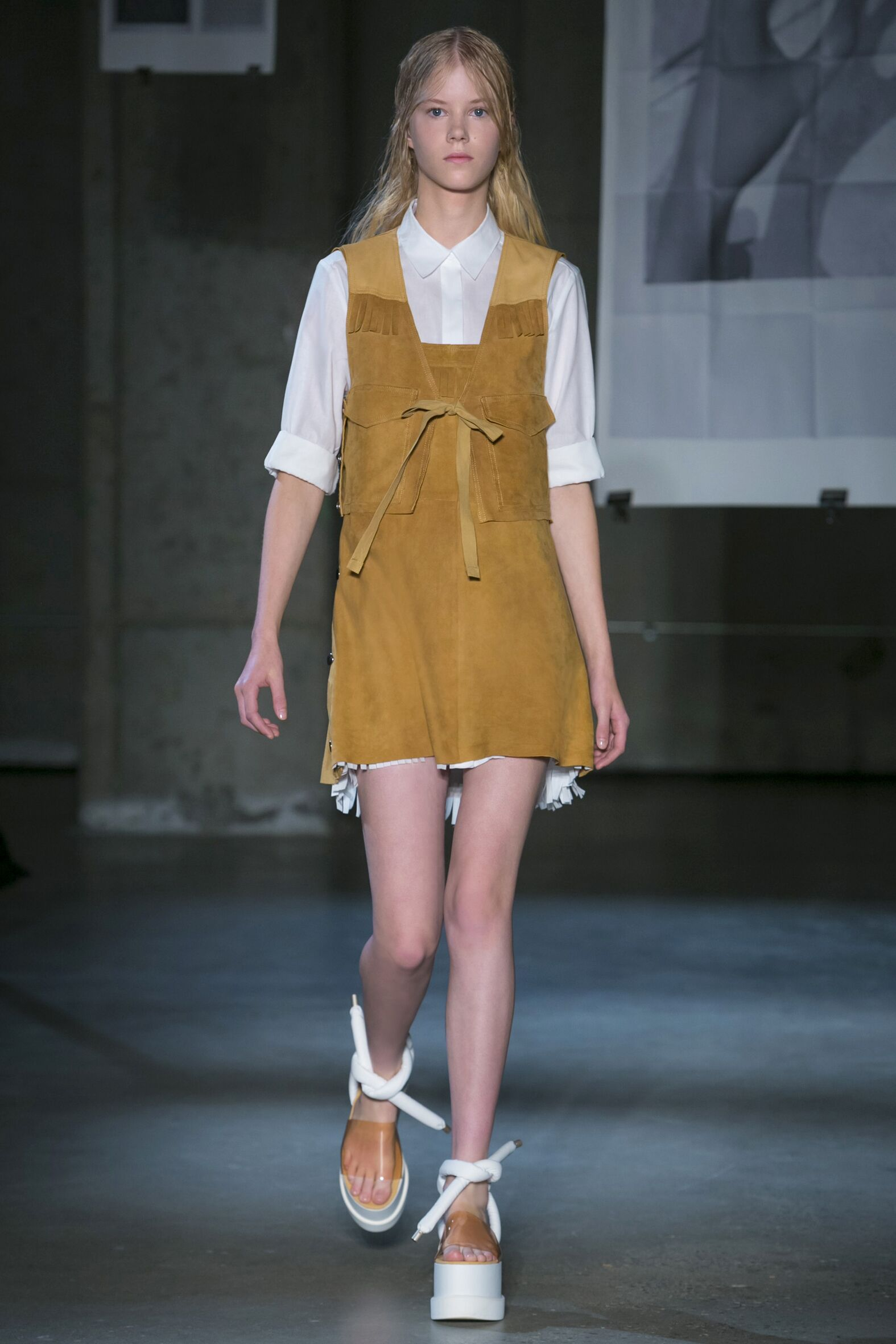 Runway MM6 Maison Martin Margiela Spring 2015 Women New York Fashion Week