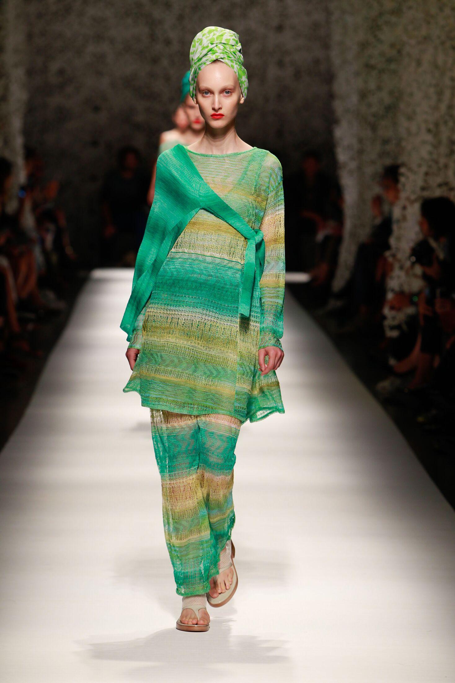 Runway Missoni Summer 2015 Women's Collection Milan Fashion Week