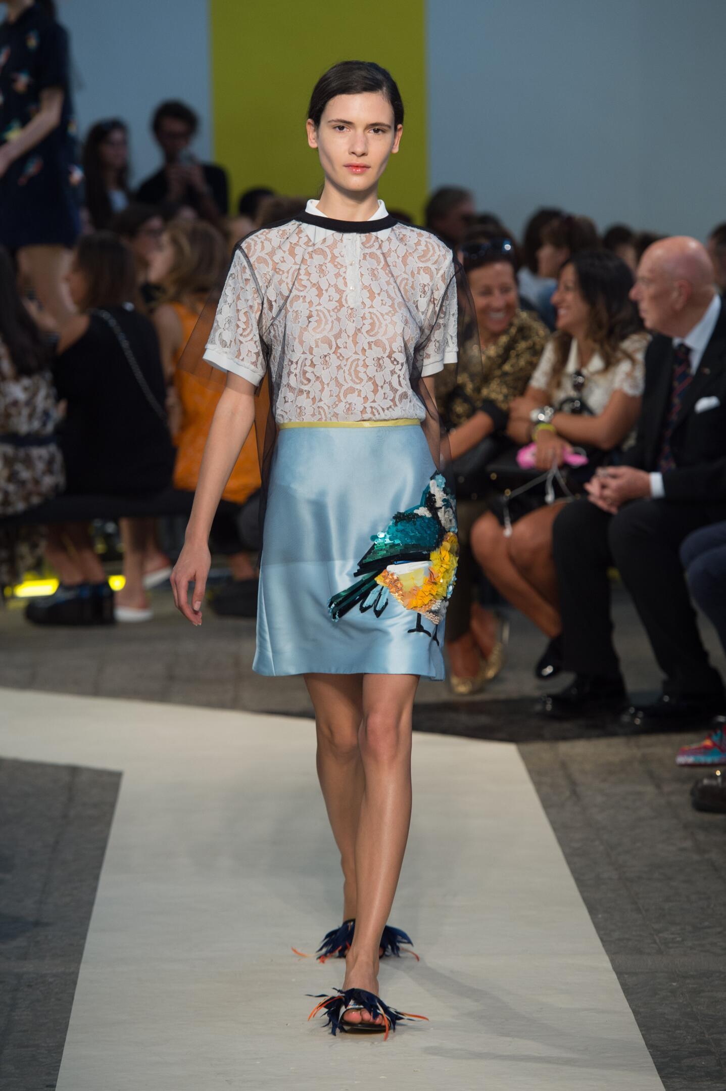 Runway Msgm Spring Summer 2015 Women's Collection Milan Fashion Week
