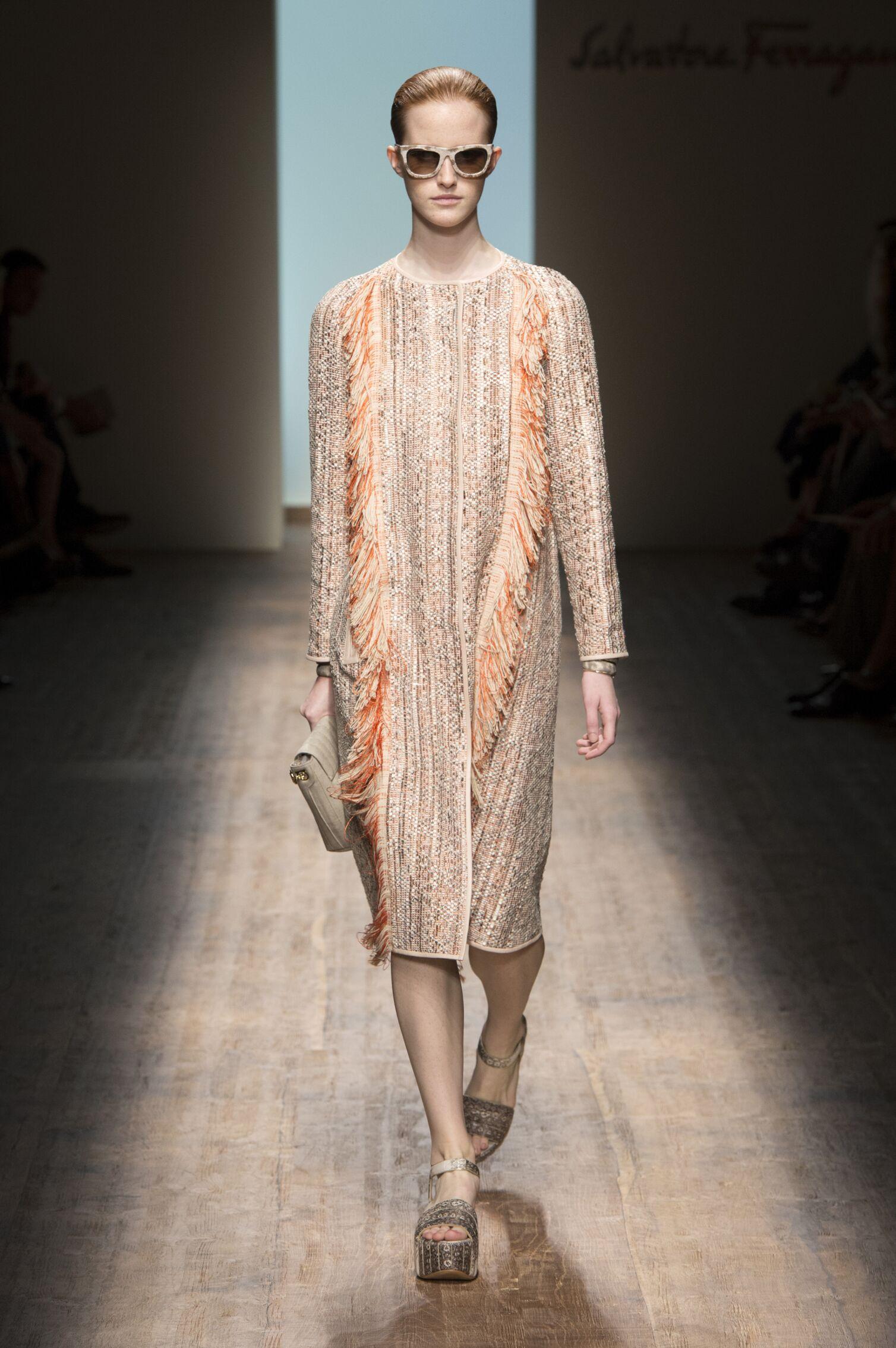 Runway Salvatore Ferragamo Spring Summer 2015 Women's Collection Milan Fashion Week