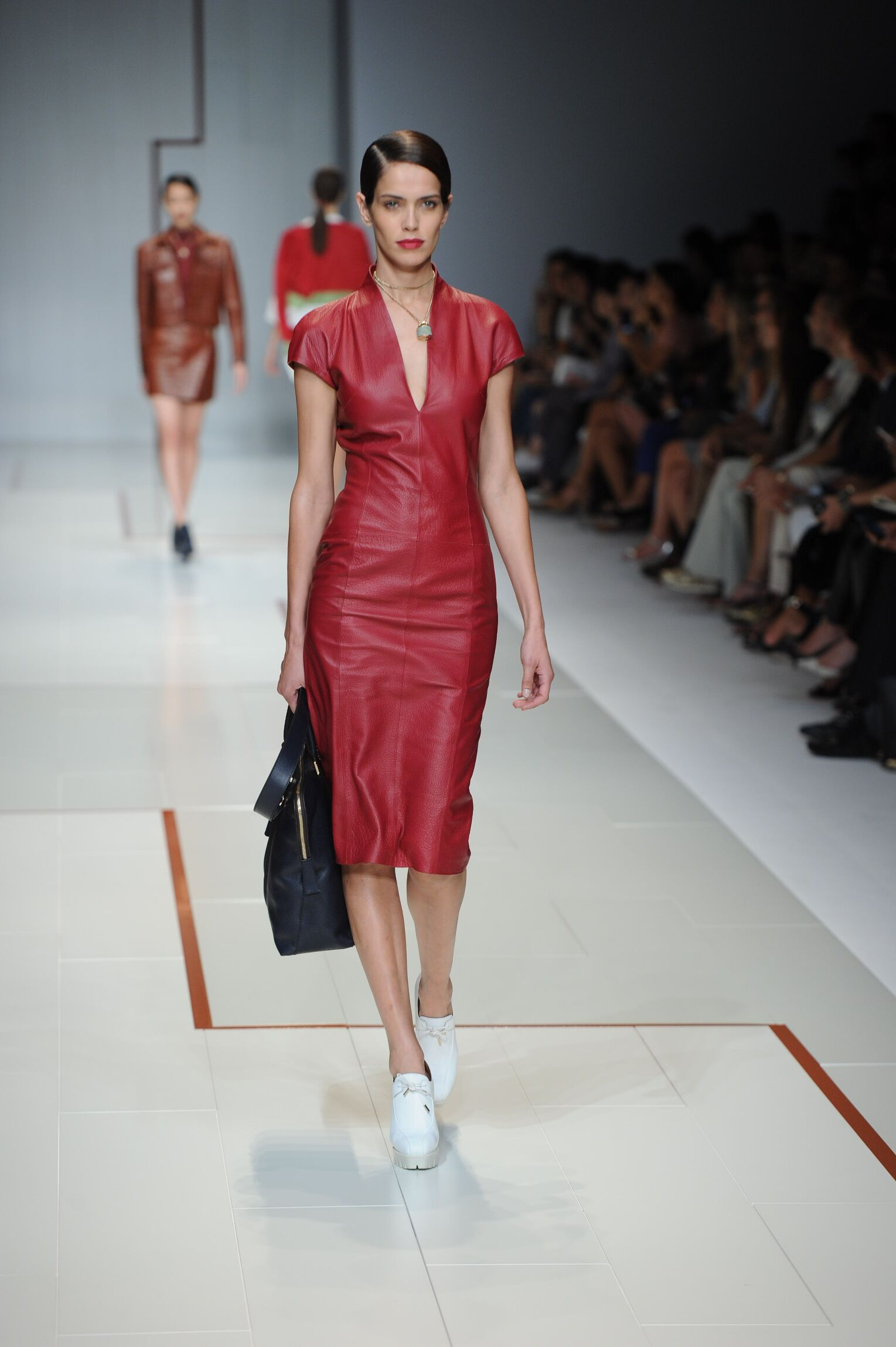 Runway Trussardi Spring Summer 2015 Women's Collection Milan Fashion Week