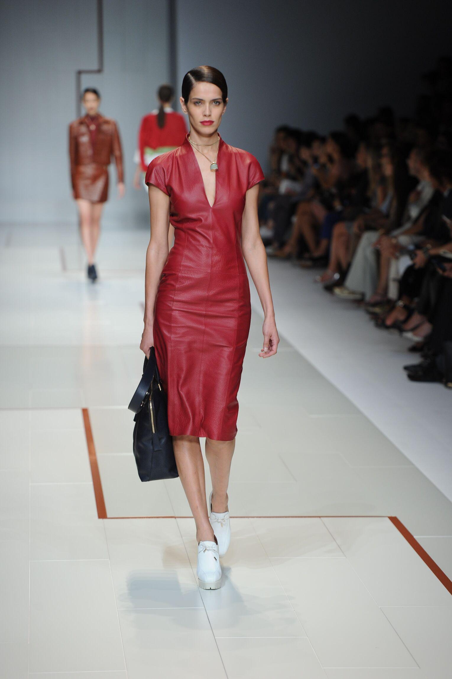 Runway Trussardi Spring Summer 2015 Women's Collection Milan Fashion Week