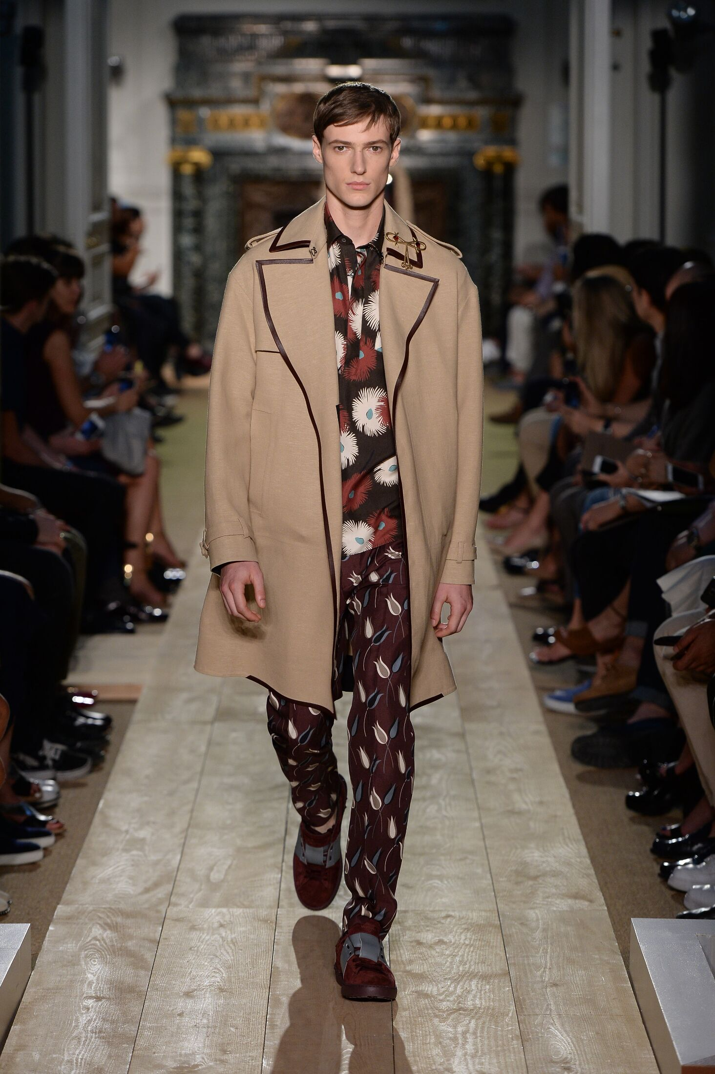 Runway Valentino Spring Summer 2015 Men's Collection Paris Fashion Week