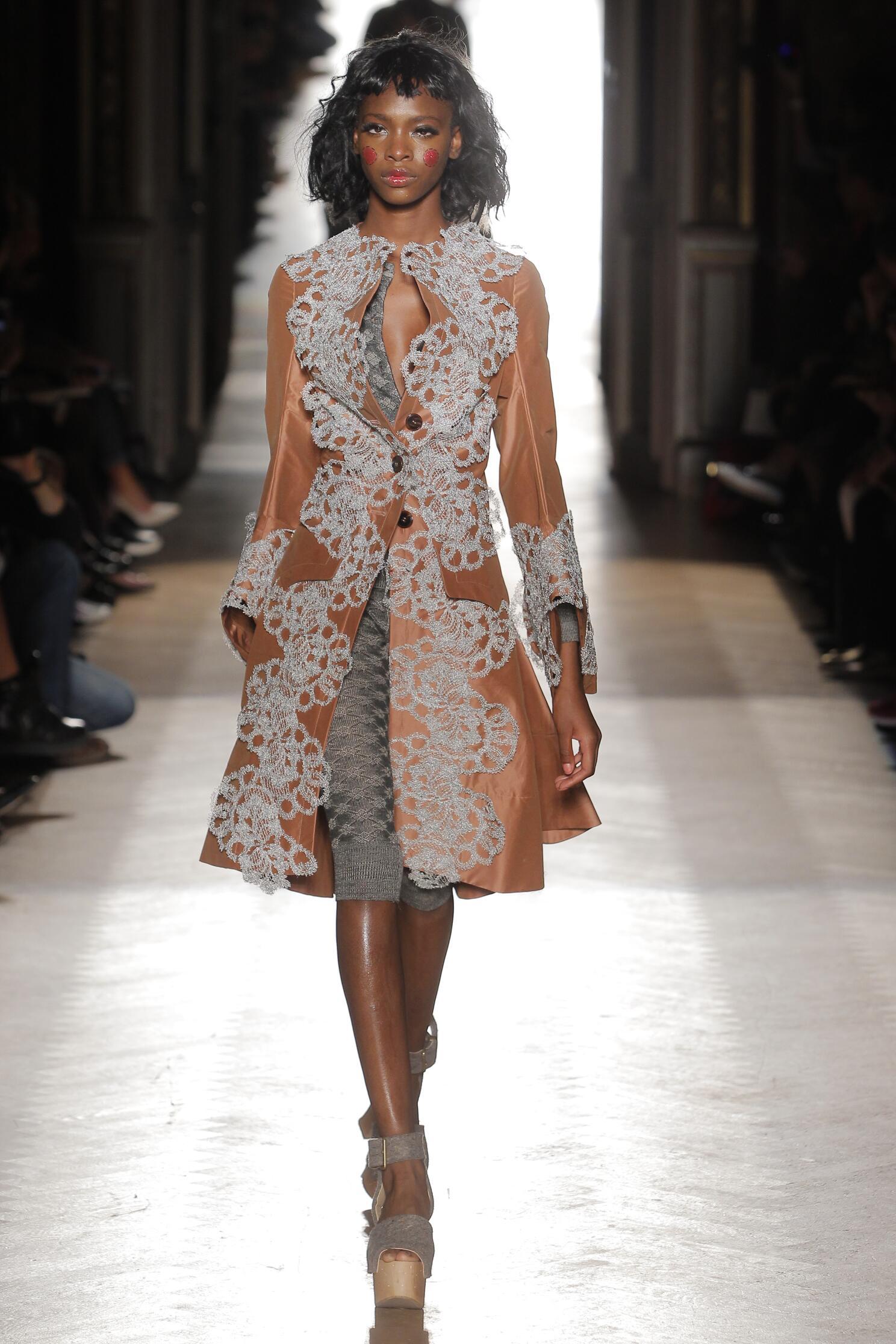 Runway Vivienne Westwood Gold Label Spring Summer 2015 Women's Collection Paris Fashion Week