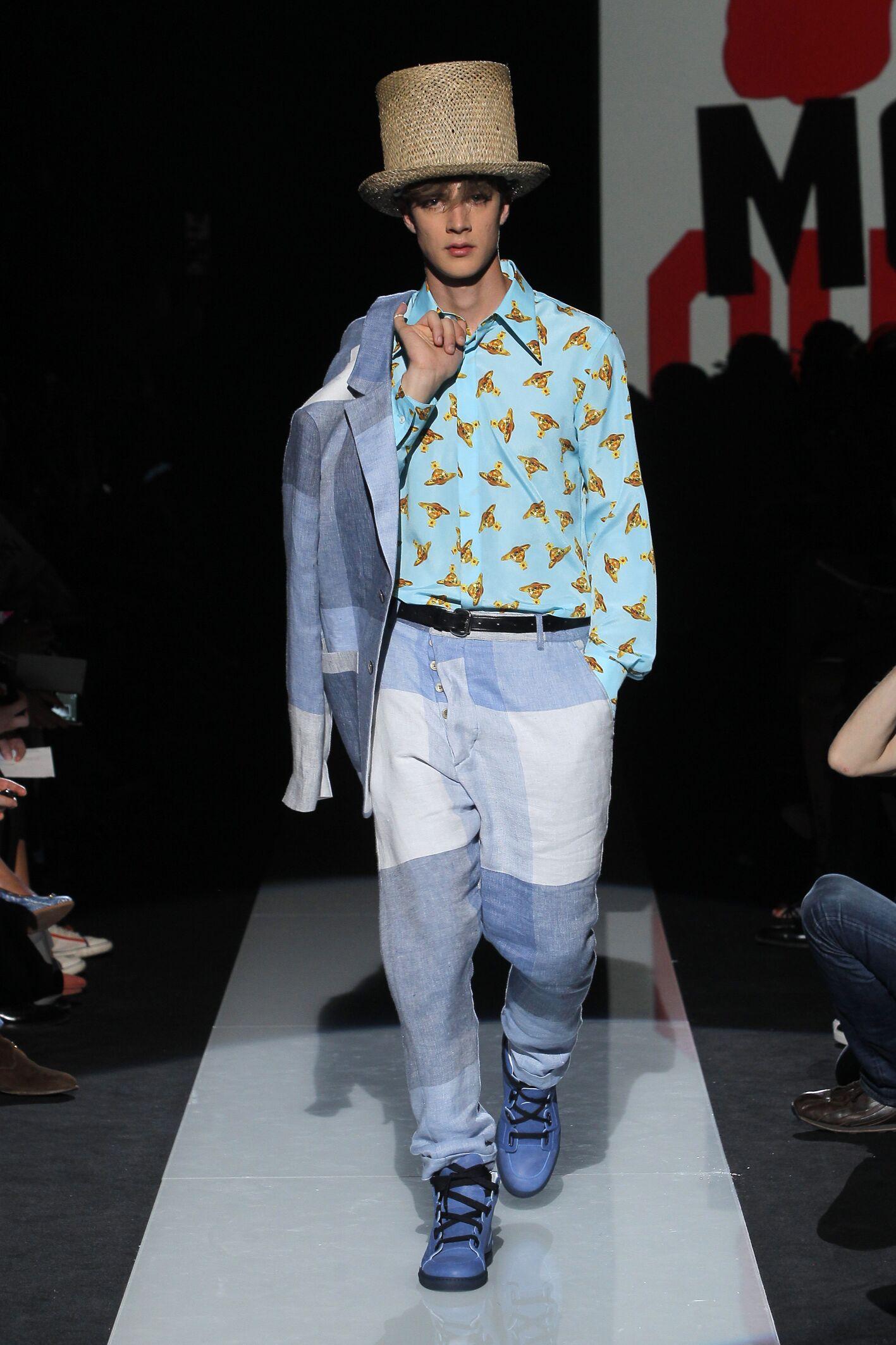 Runway Vivienne Westwood Spring Summer 2015 Men's Collection Milan Fashion Week