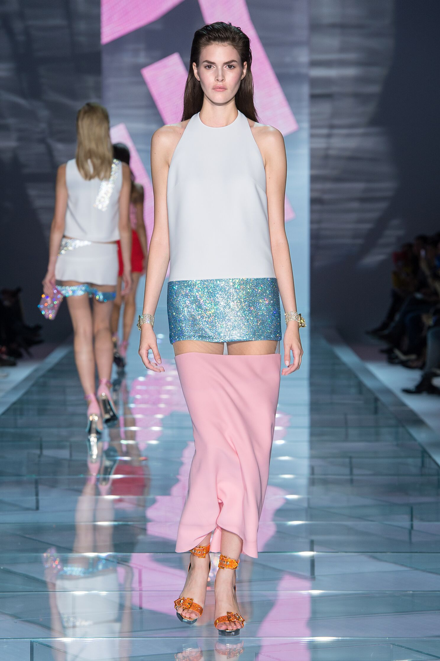 SS 2015 Versace Fashion Show