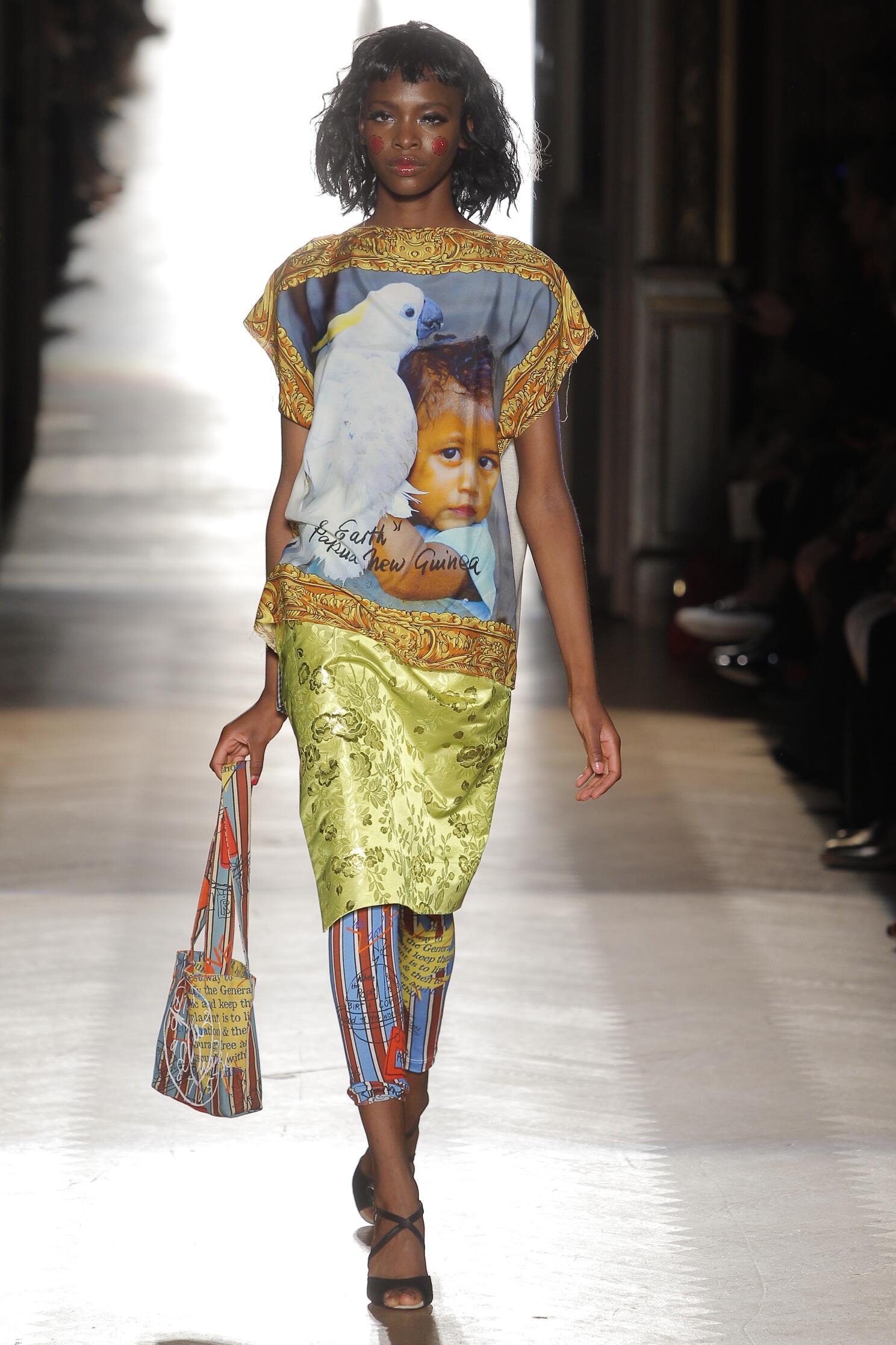 SS 2015 Vivienne Westwood Gold Label Fashion Show