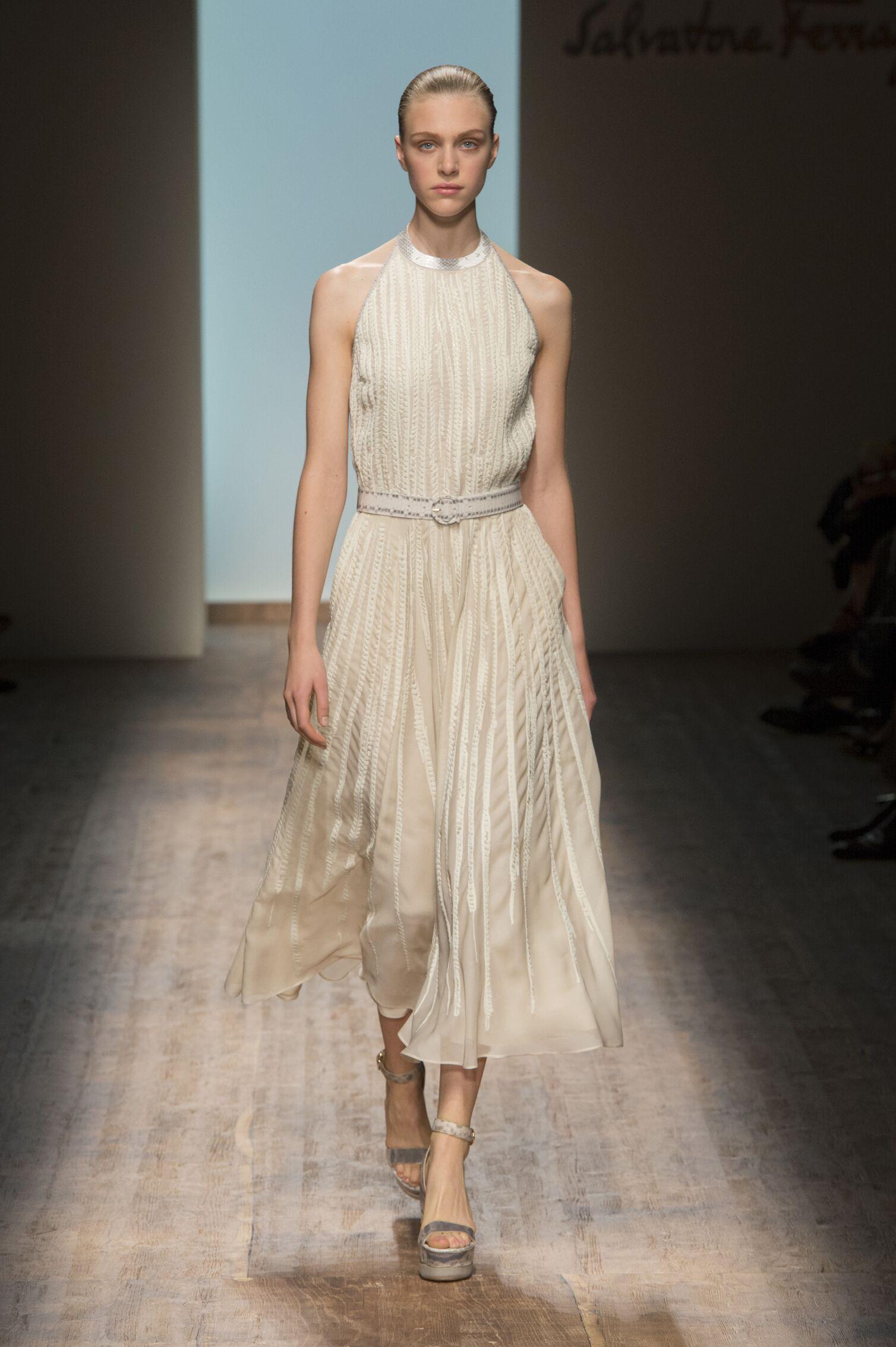 Salvatore Ferragamo Spring Summer 2015 Womens Collection Milan Fashion Week
