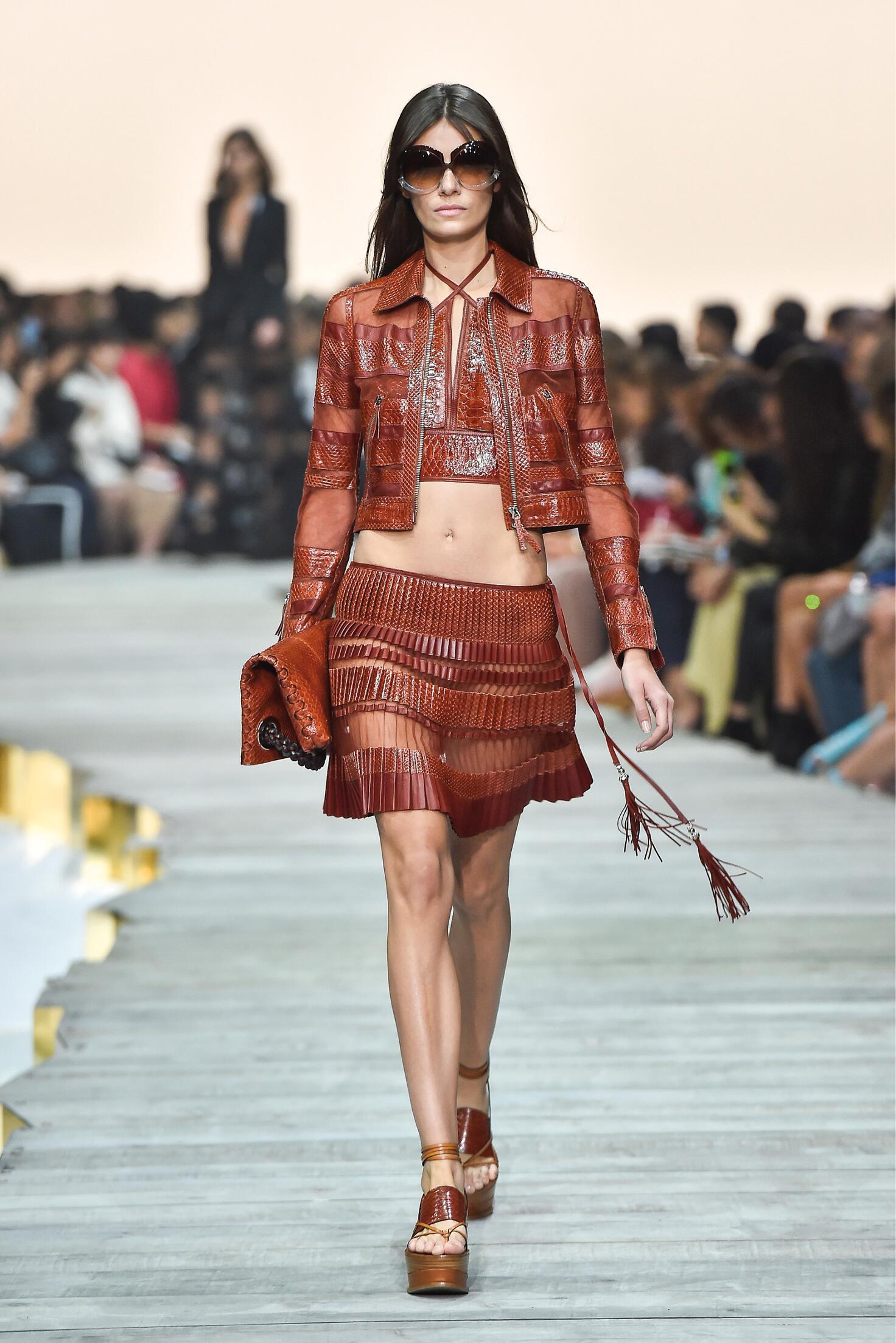 Spring 2015 Fashion Trends Roberto Cavalli