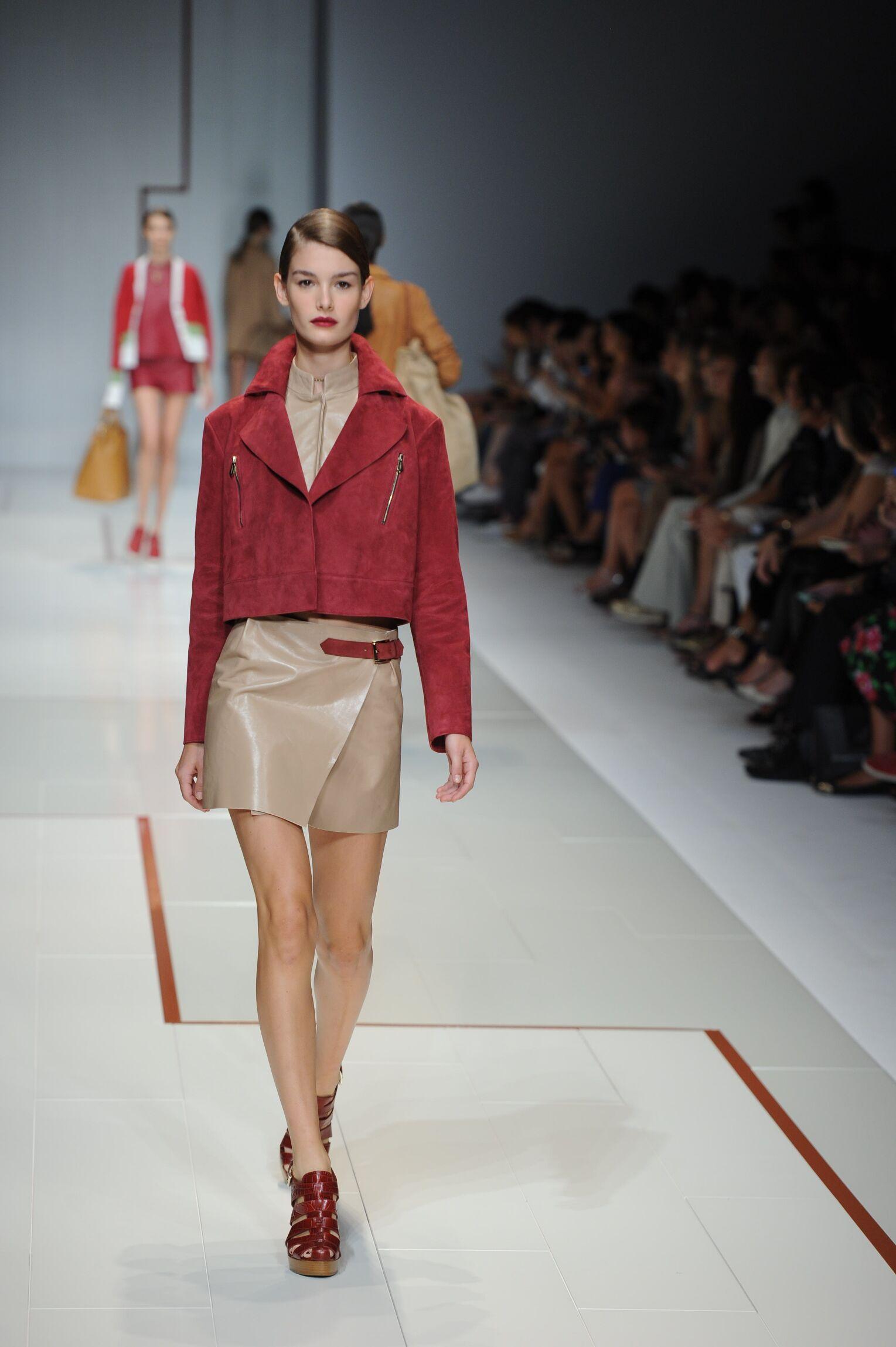 Spring 2015 Fashion Trends Trussardi