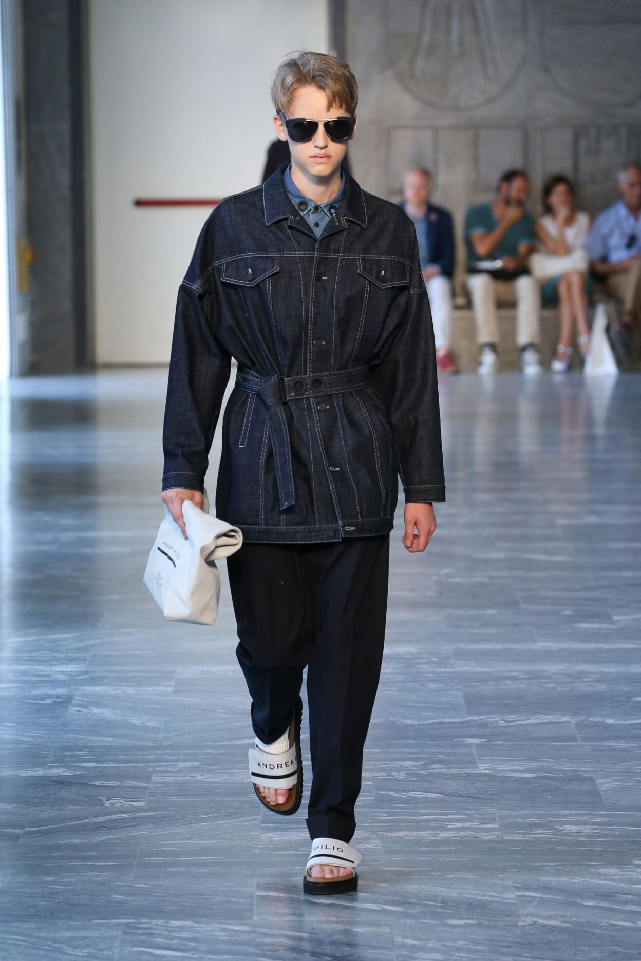 Spring 2015 Man Fashion Show Andrea Pompilio