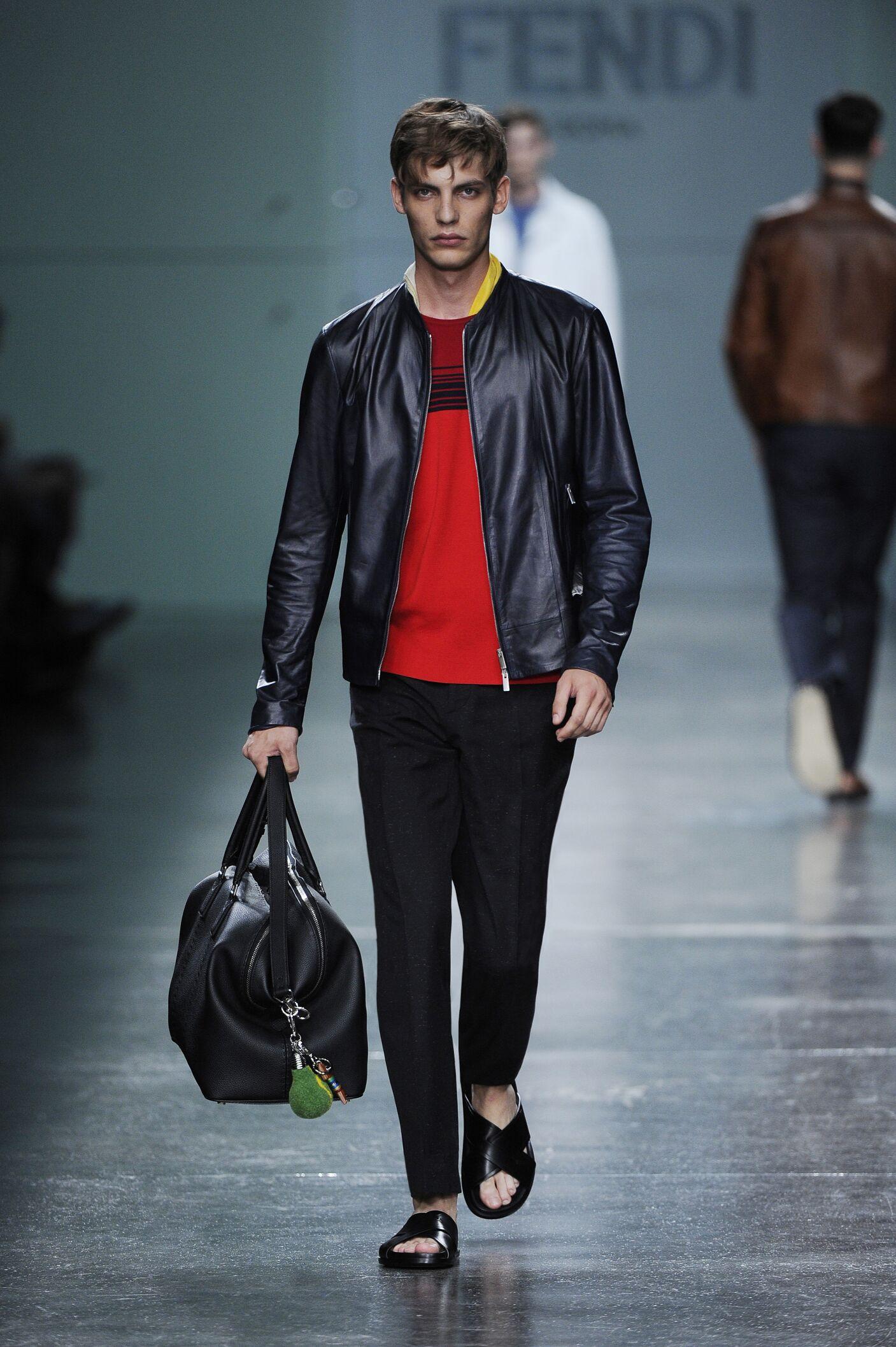 Spring 2015 Man Fashion Show Fendi