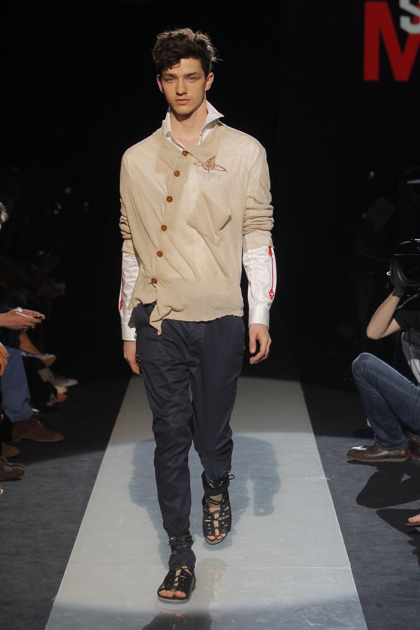 Spring 2015 Man Fashion Show Vivienne Westwood