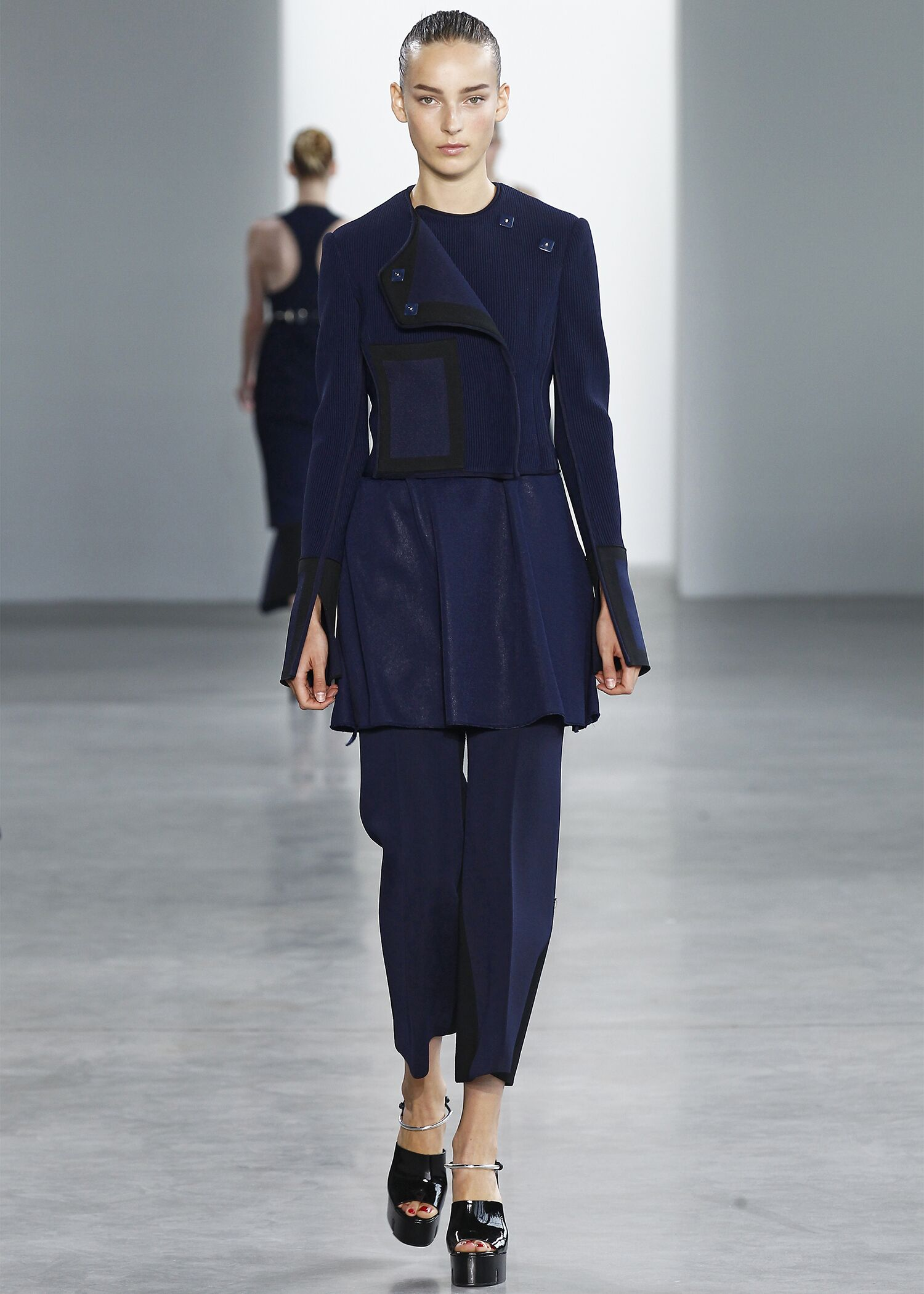 Spring 2015 Woman Fashion Show Calvin Klein Collection
