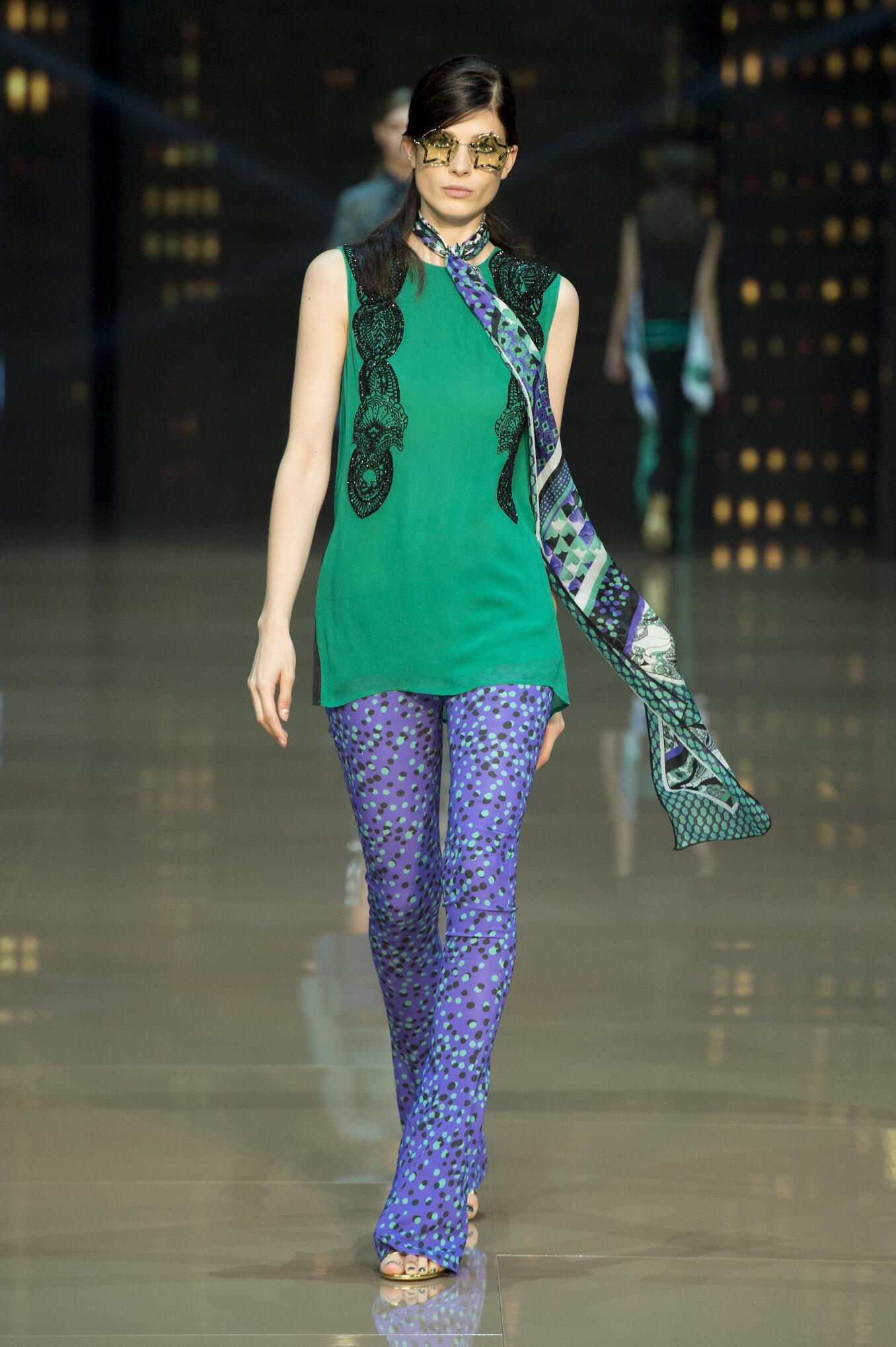 Spring 2015 Woman Fashion Show Just Cavalli
