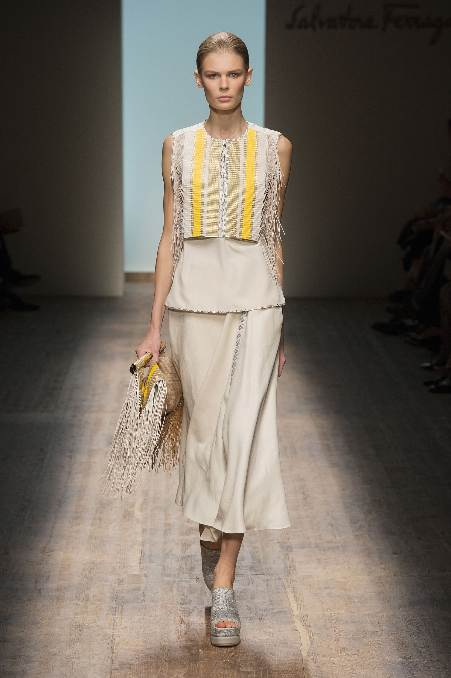 Spring 2015 Woman Fashion Show Salvatore Ferragamo