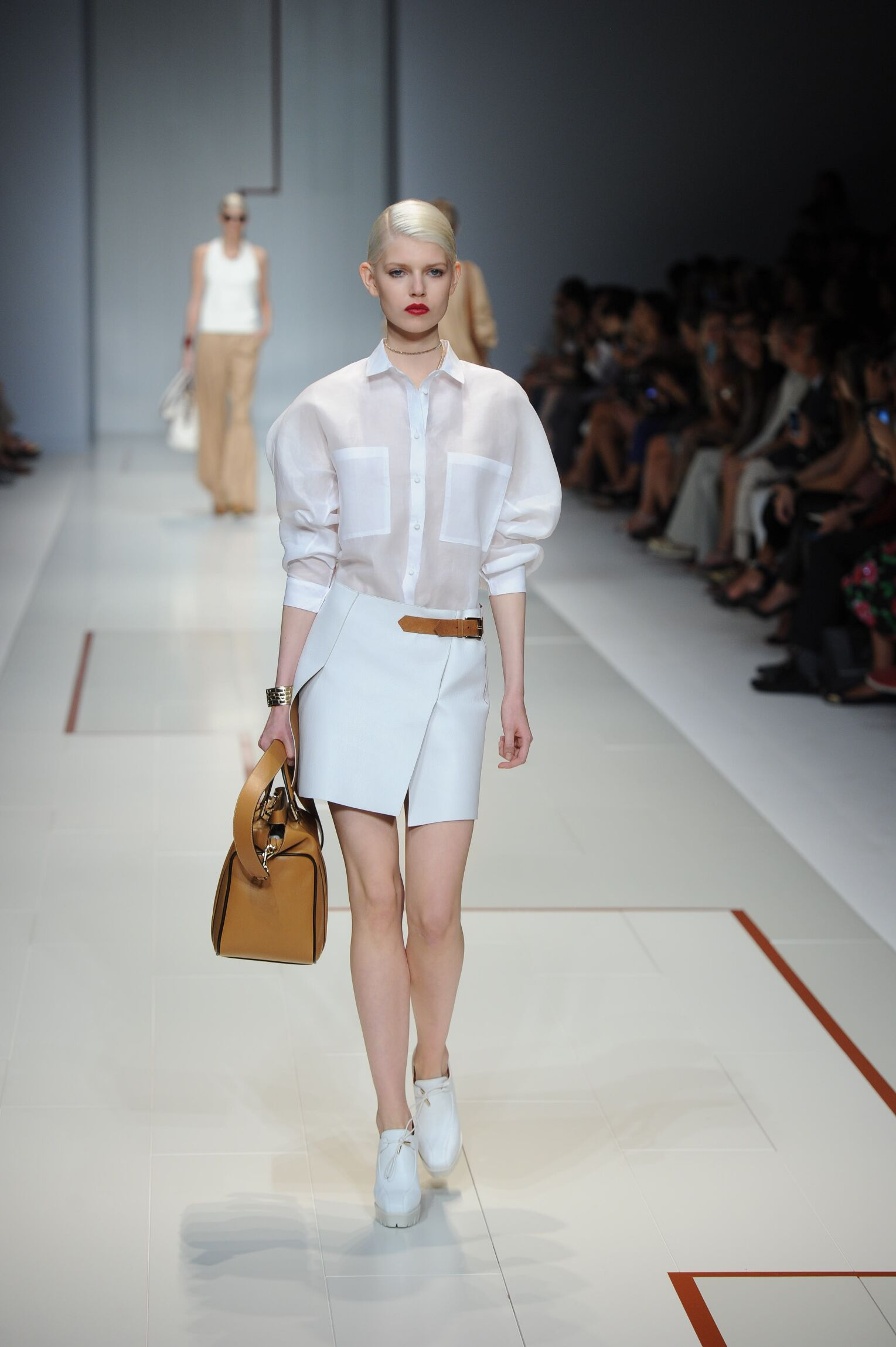 Spring 2015 Woman Fashion Show Trussardi