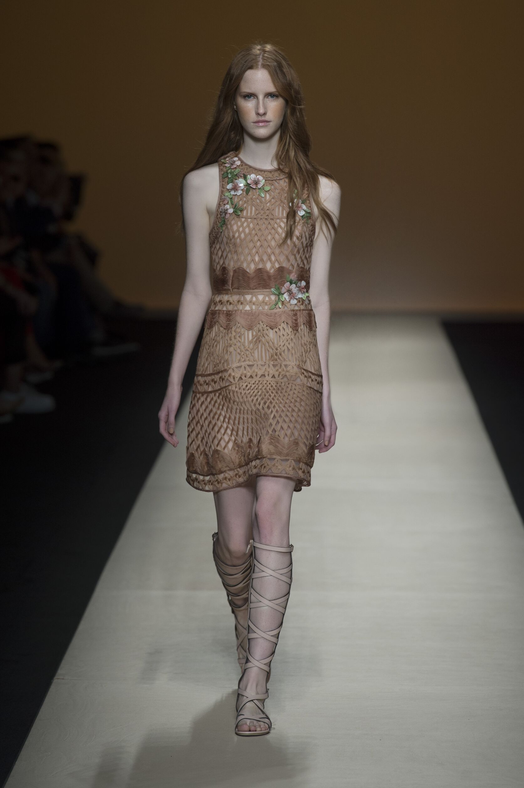 Spring Summer 2015 Fashion Model Alberta Ferretti