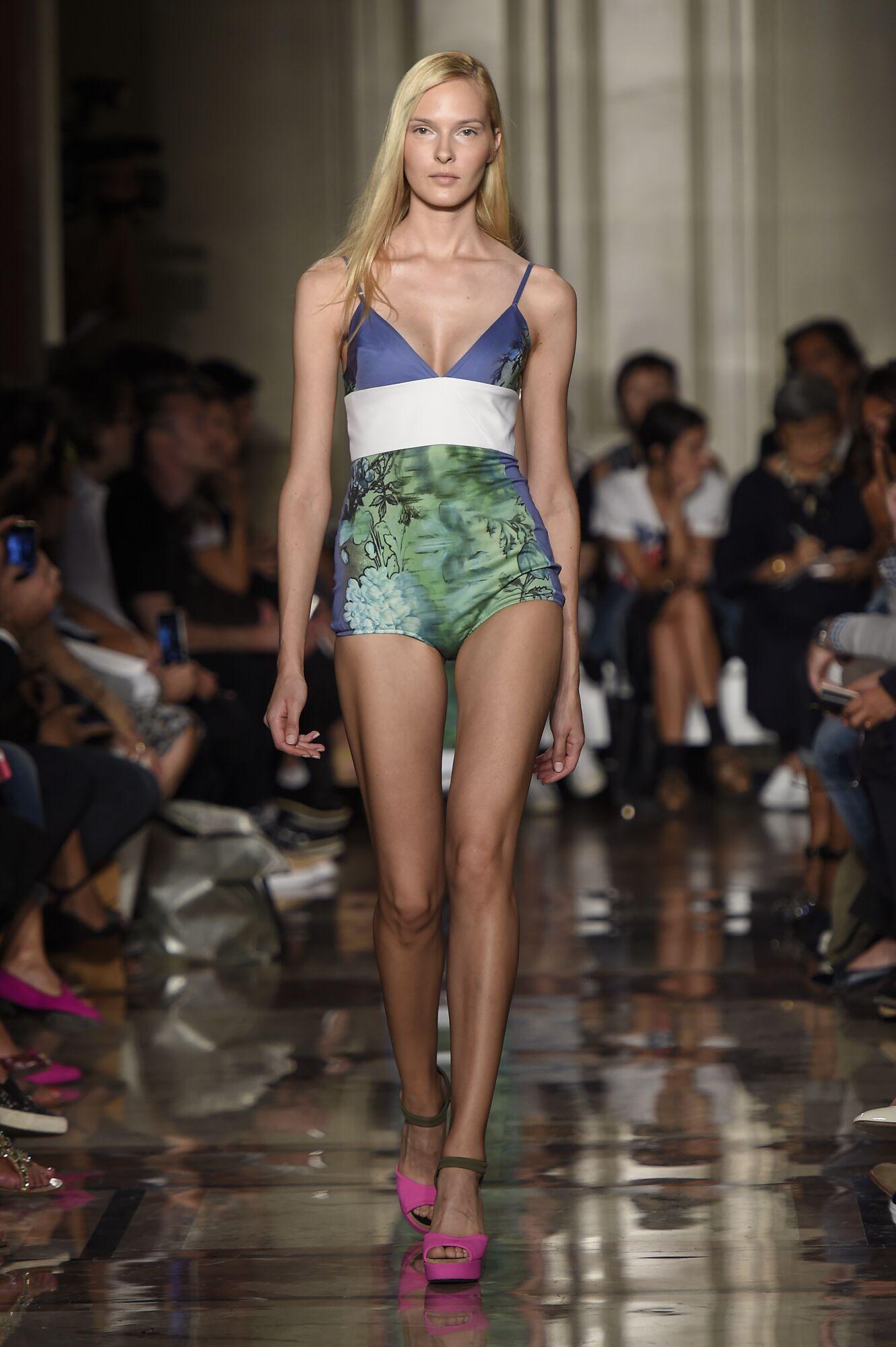 Spring Summer 2015 Fashion Model Andrea Incontri Collection