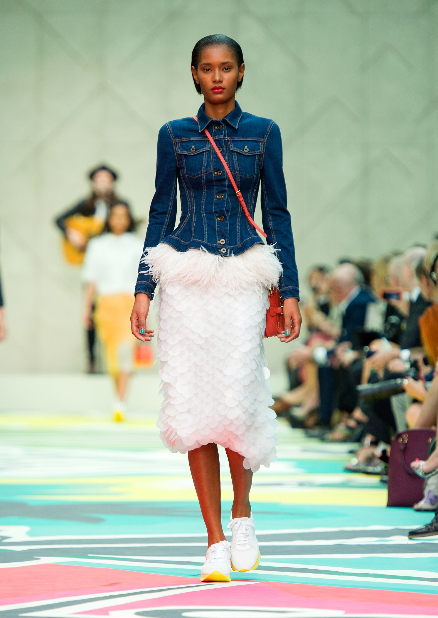 Spring Summer 2015 Fashion Model Burberry Prorsum