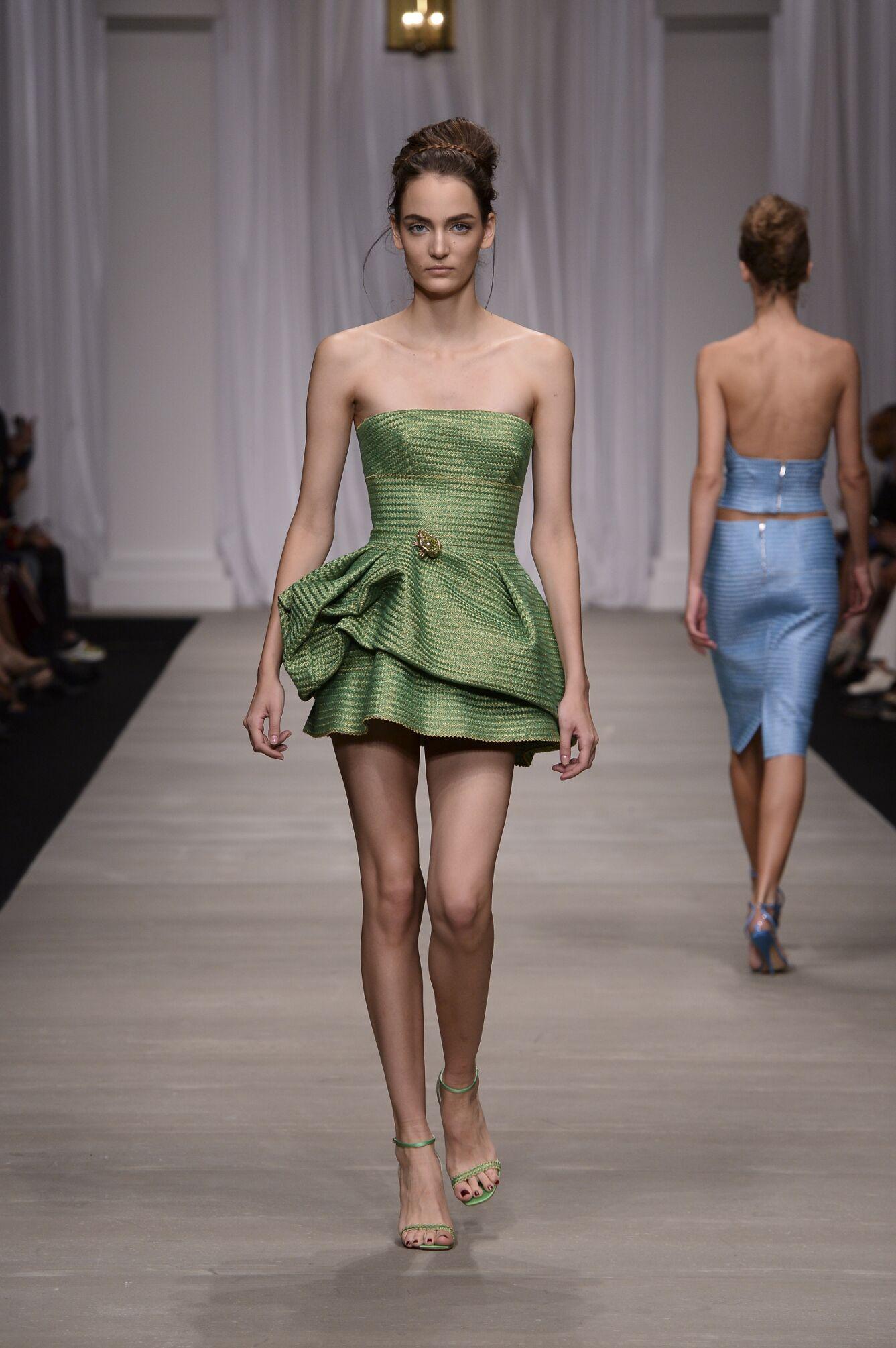 Spring Summer 2015 Fashion Model Ermanno Scervino