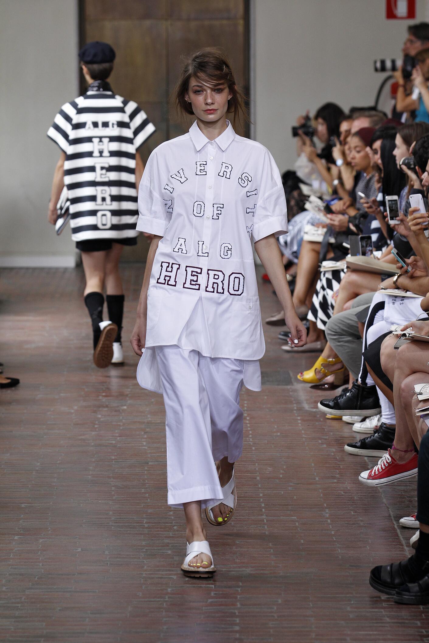 Spring Summer 2015 Fashion Model I'm Isola Marras