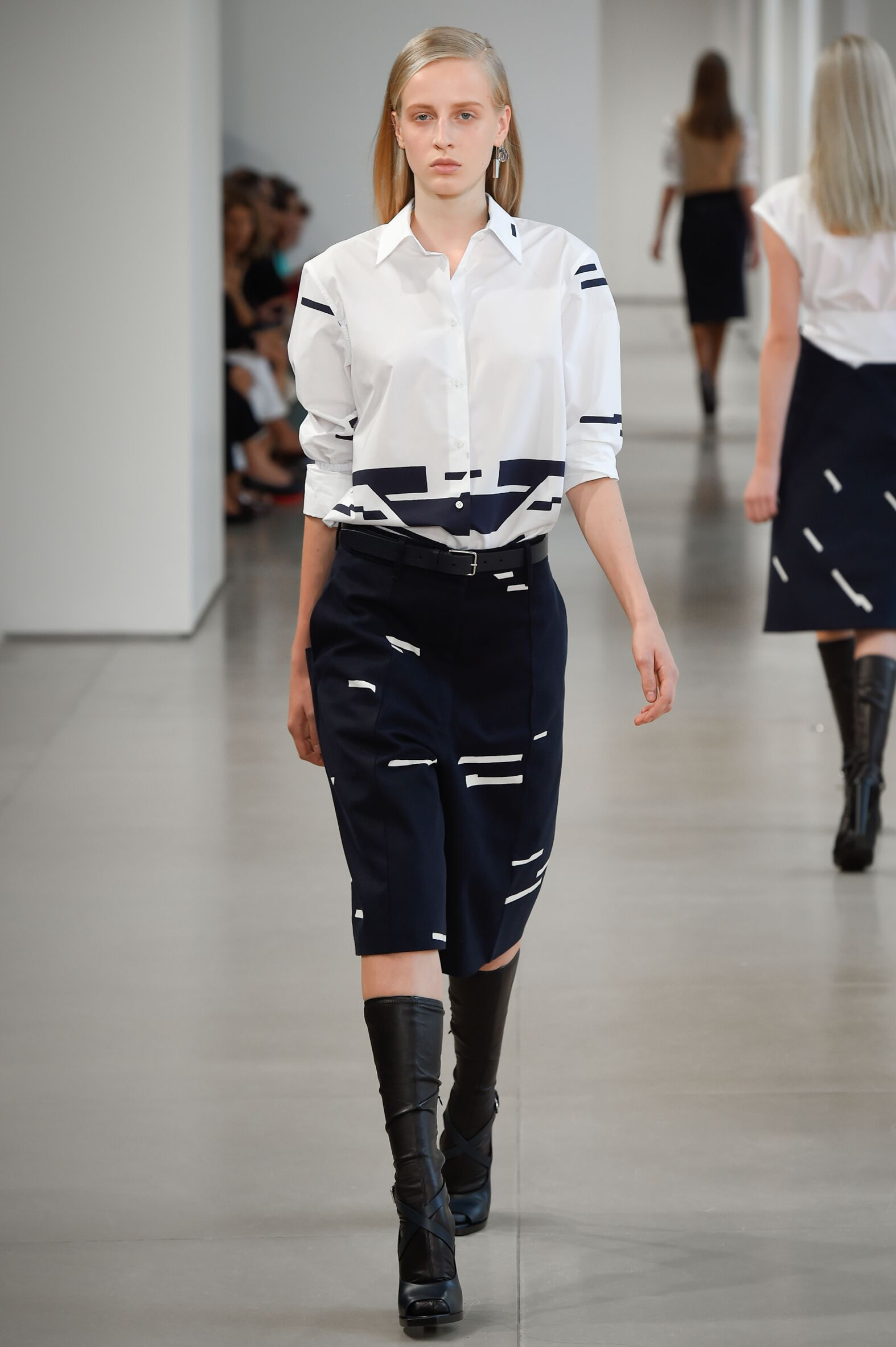 Spring Summer 2015 Fashion Model Jil Sander