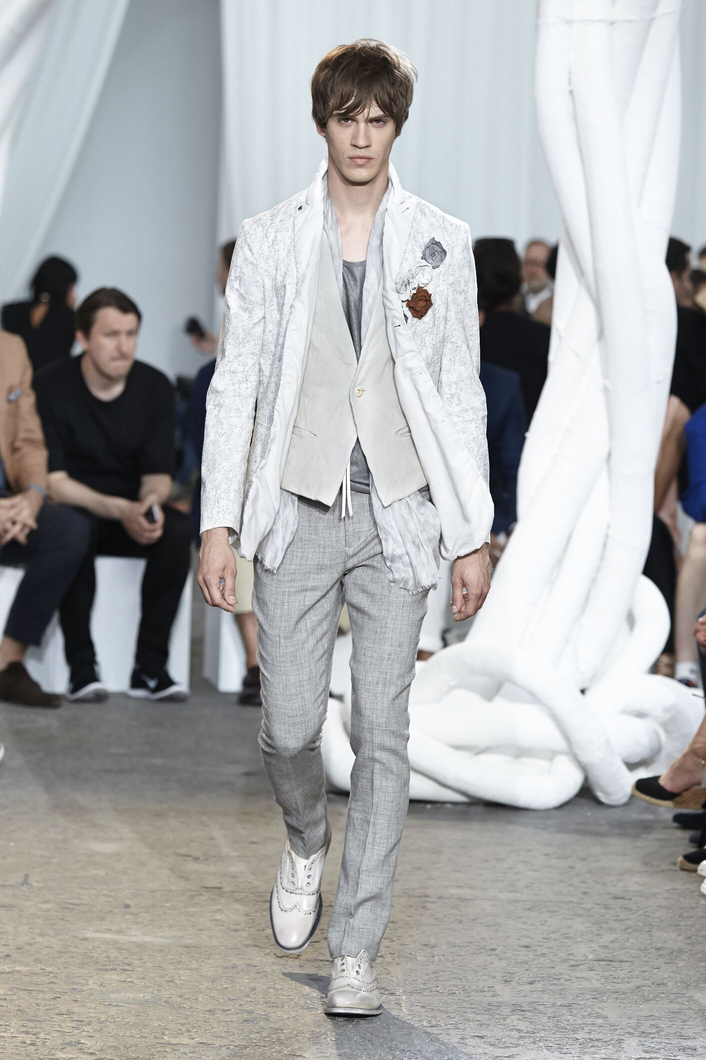 Spring Summer 2015 Fashion Model John Varvatos