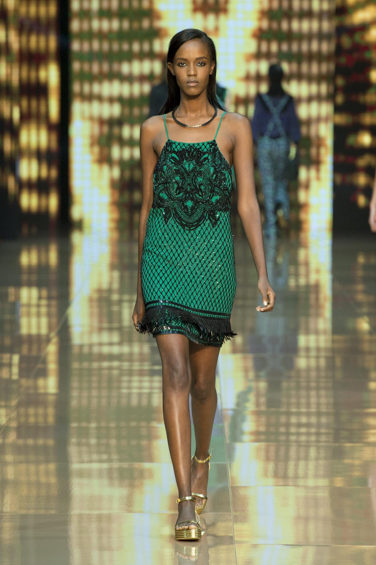 Spring Summer 2015 Fashion Model Just Cavalli