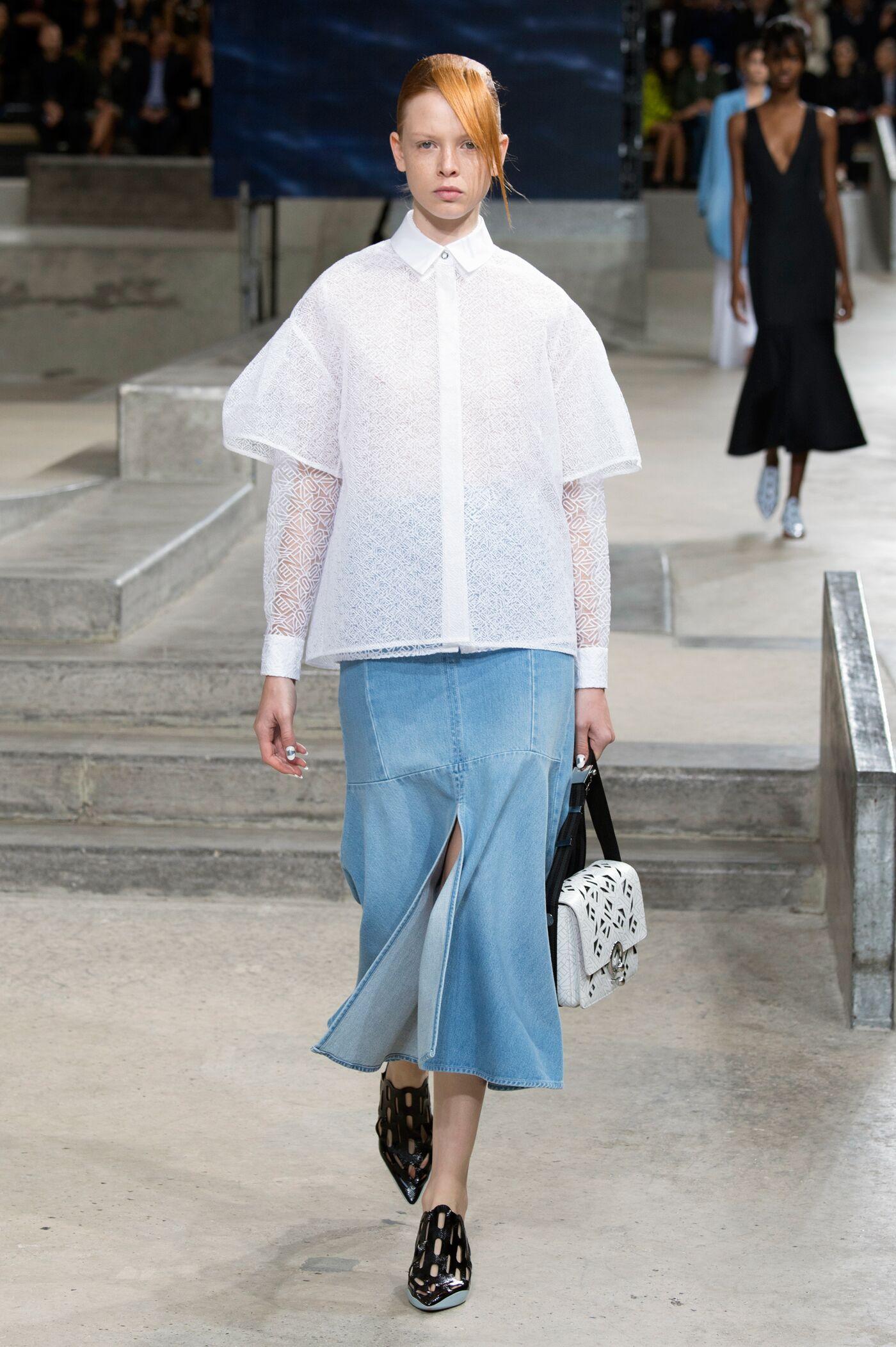 Spring Summer 2015 Fashion Model Kenzo