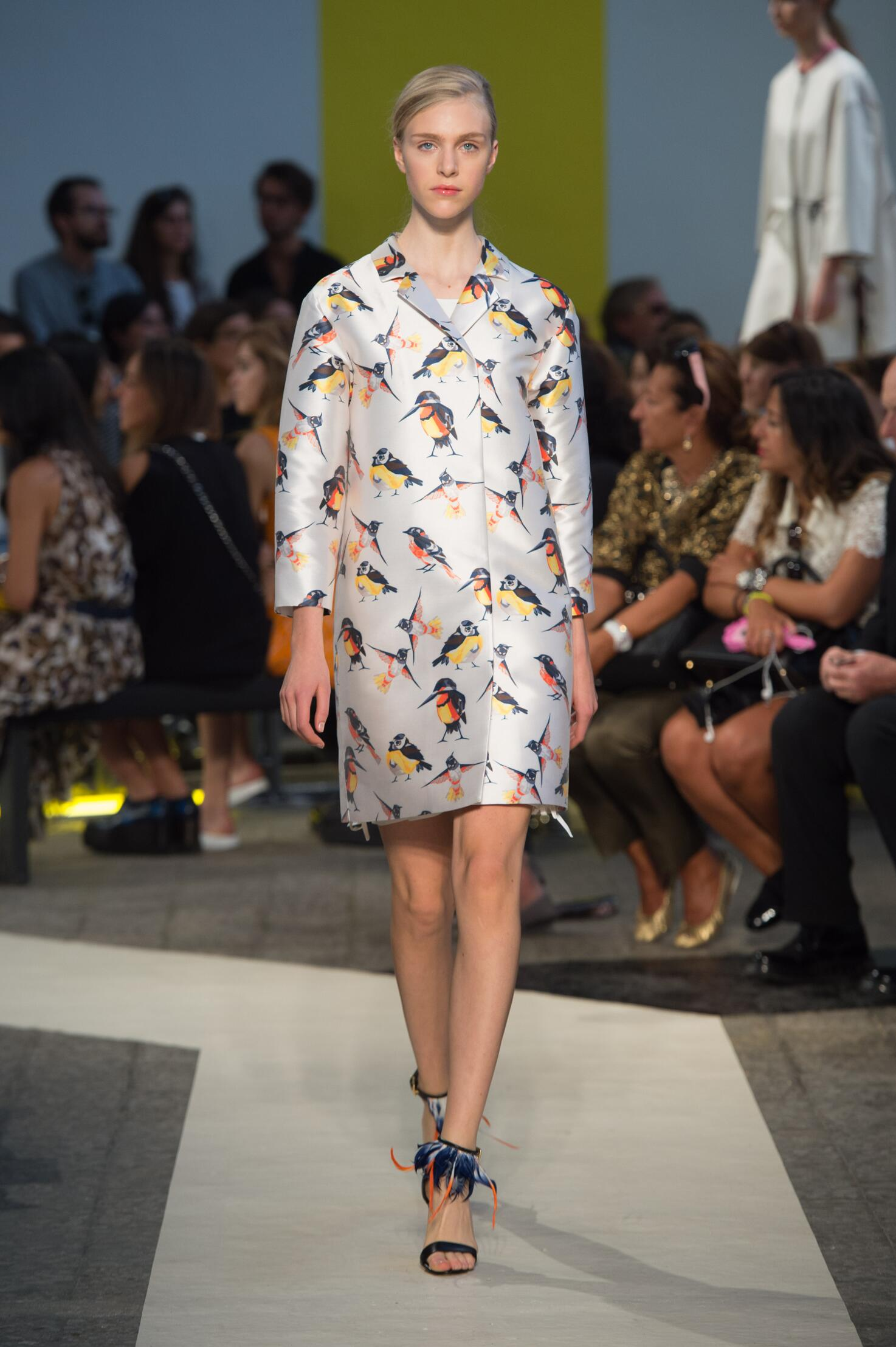Spring Summer 2015 Fashion Model Msgm