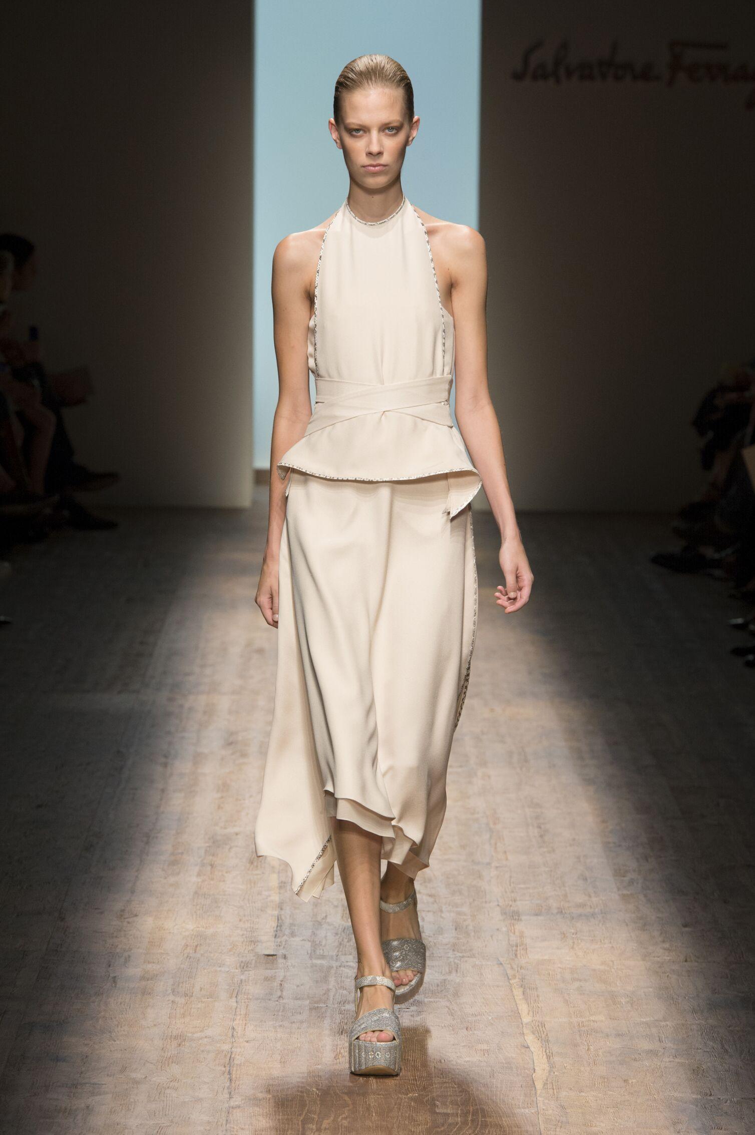 Spring Summer 2015 Fashion Model Salvatore Ferragamo