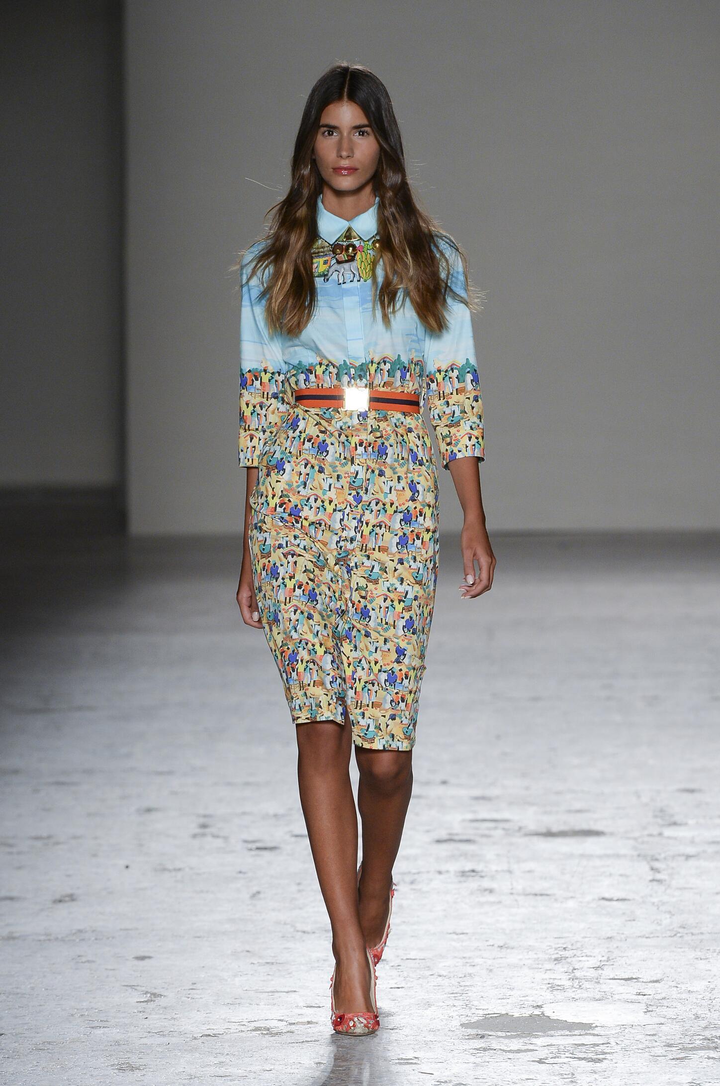 Spring Summer 2015 Fashion Model Stella Jean