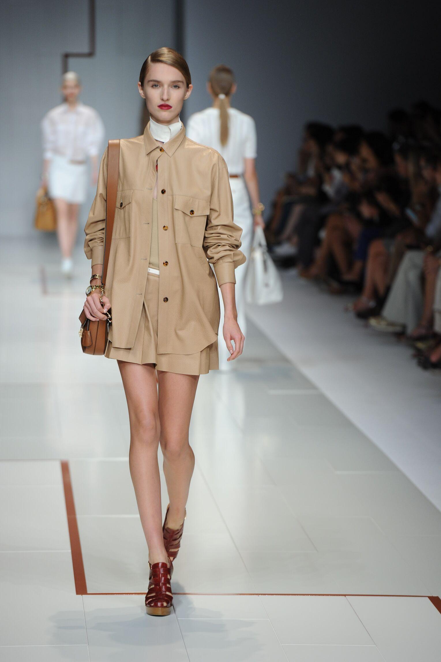Spring Summer 2015 Fashion Model Trussardi