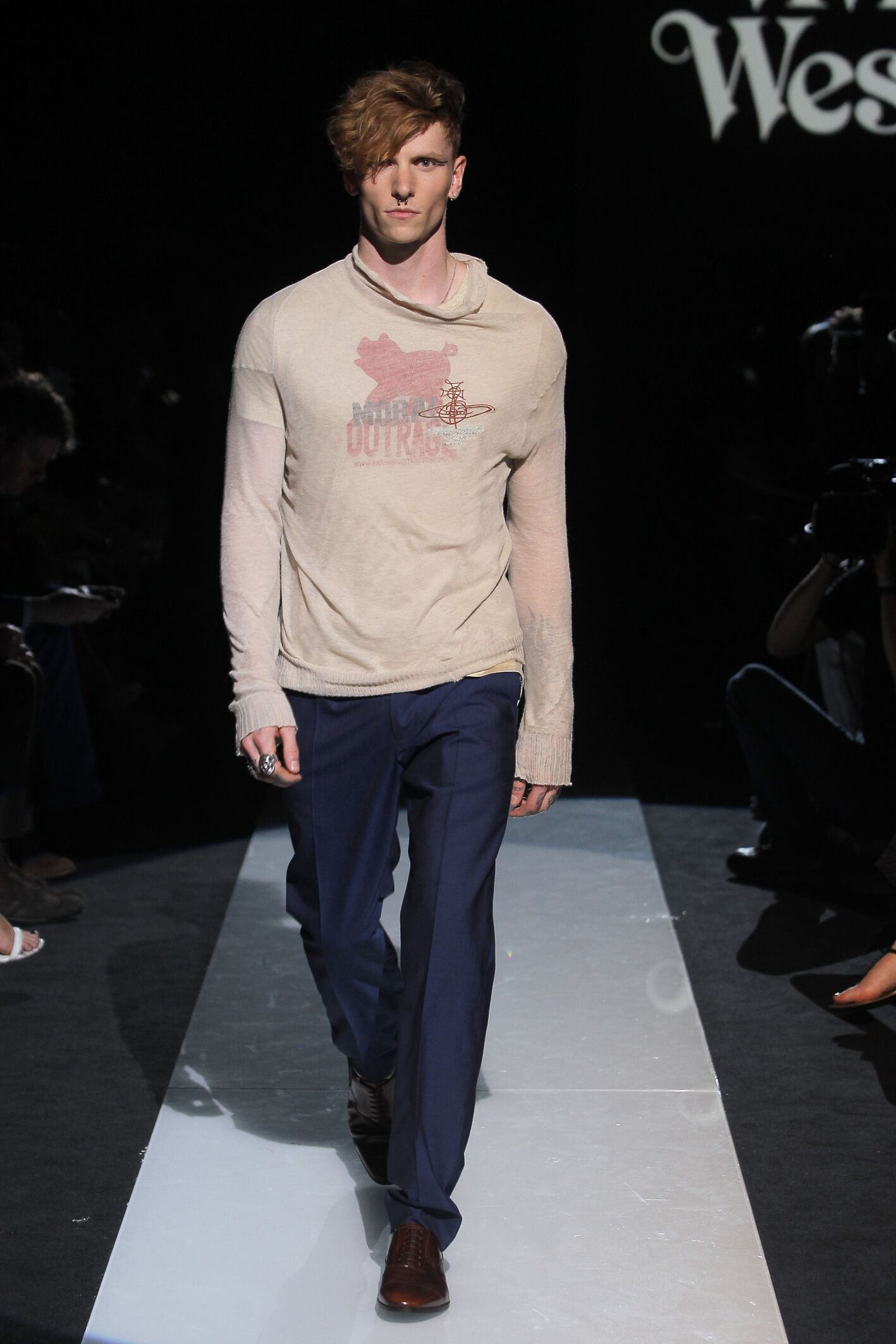 Spring Summer 2015 Fashion Model Vivienne Westwood