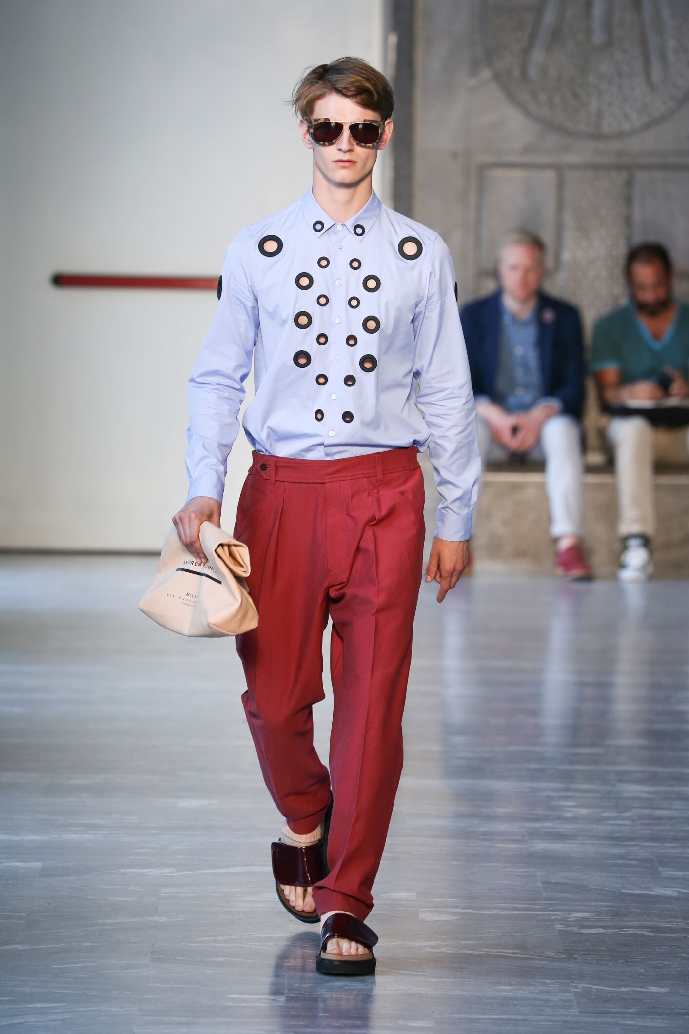 Spring Summer 2015 Man Milan Andrea Pompilio Collection