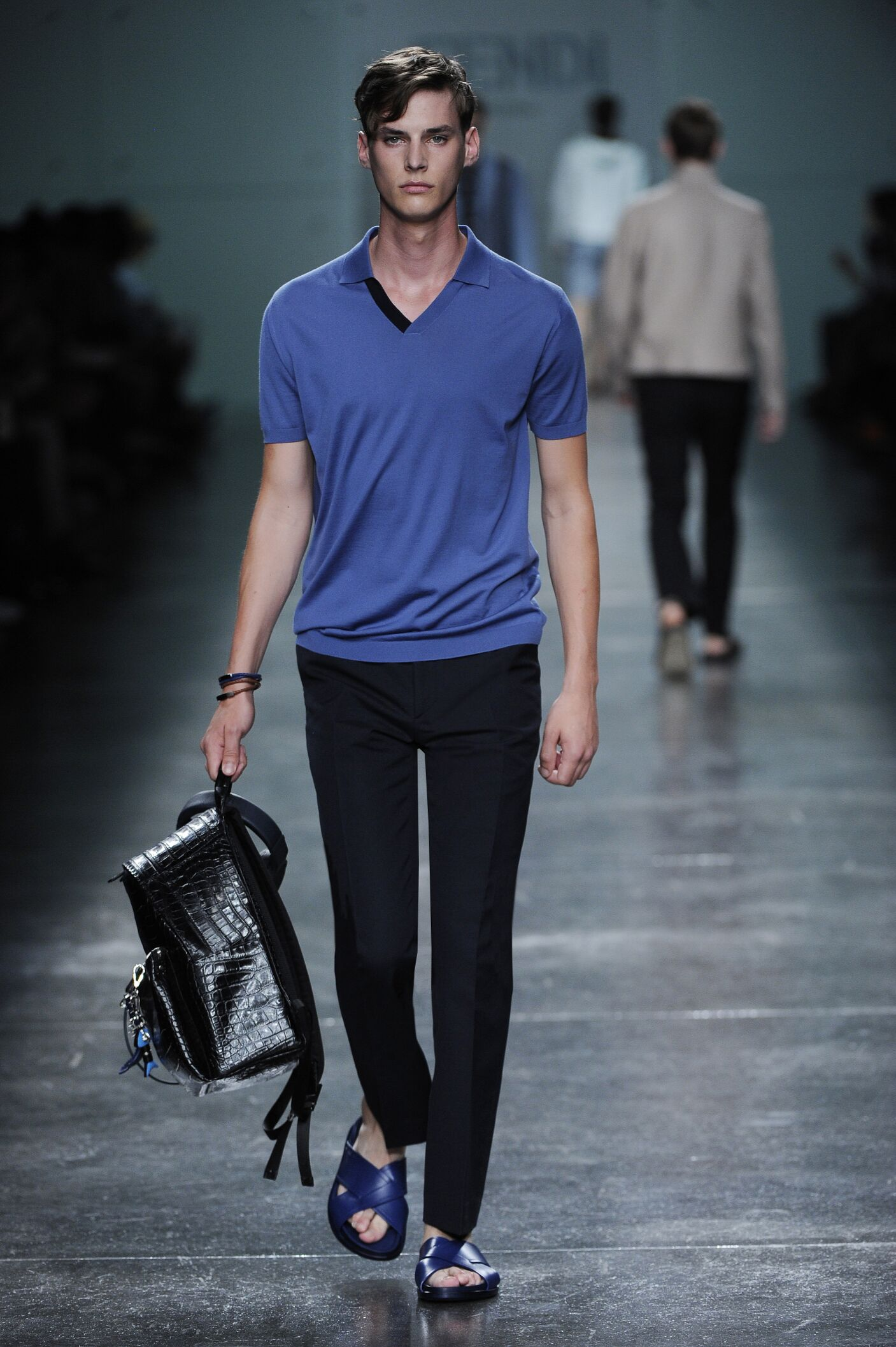 Spring Summer 2015 Man Milan Fendi Collection