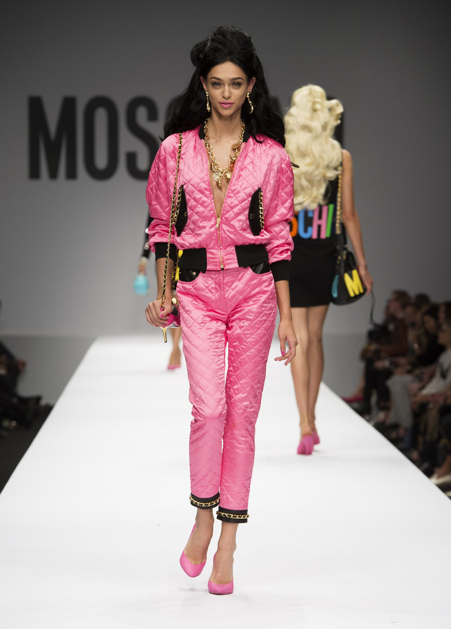 Spring Summer 2015 Woman Milan Moschino Collection