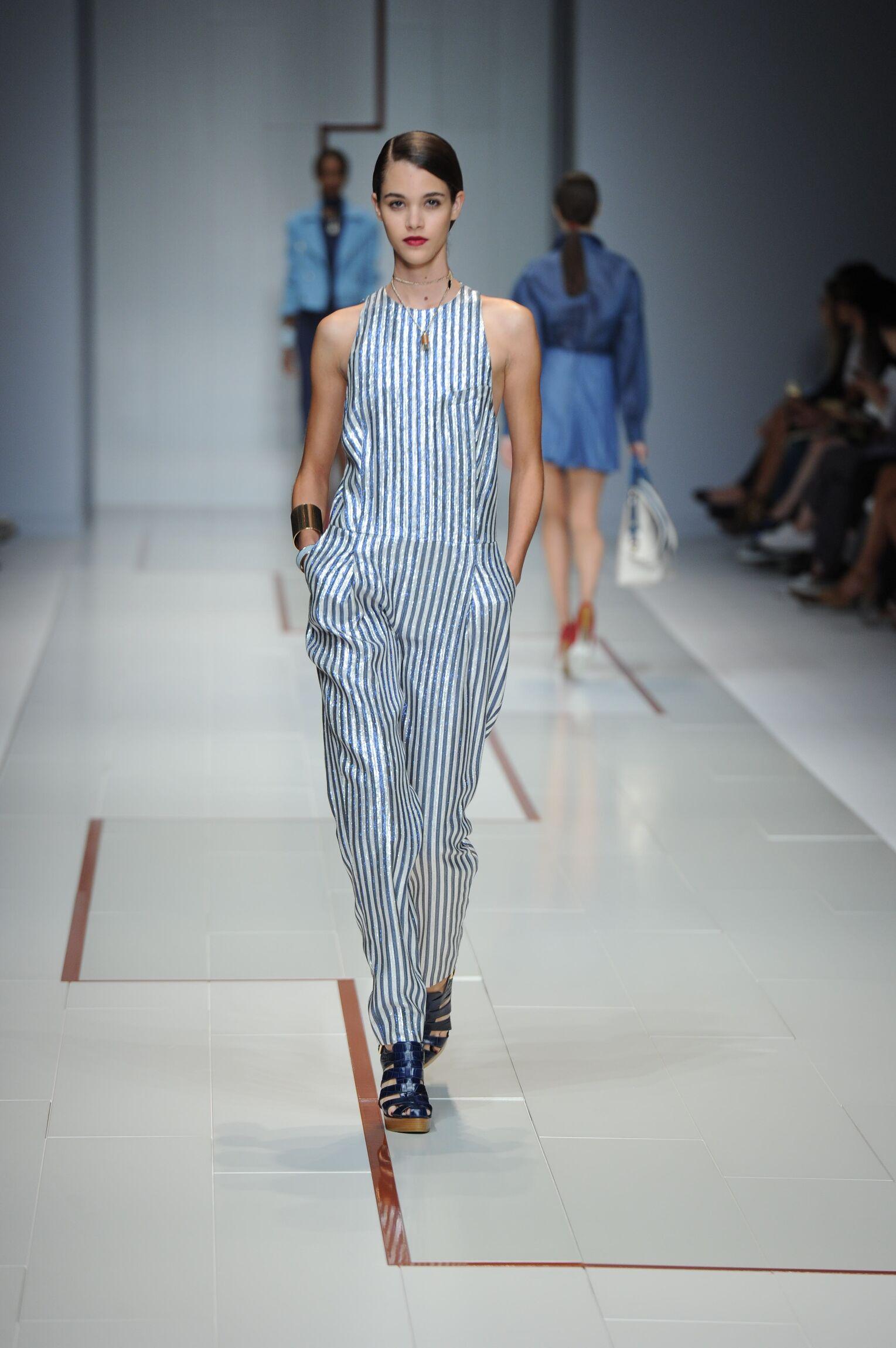 Spring Summer 2015 Woman Milan Trussardi Collection