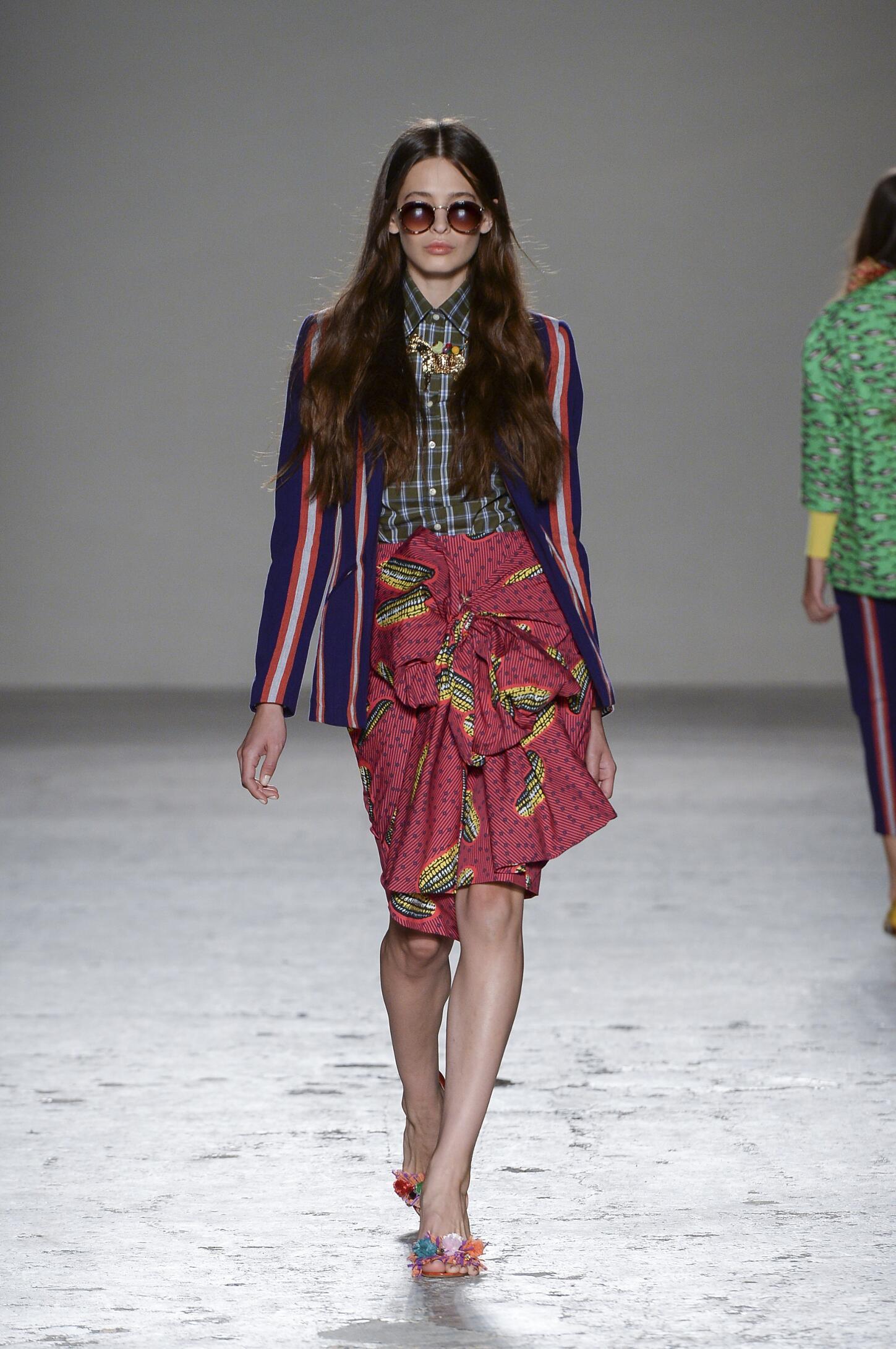 Stella Jean SS 2015 Womenswear