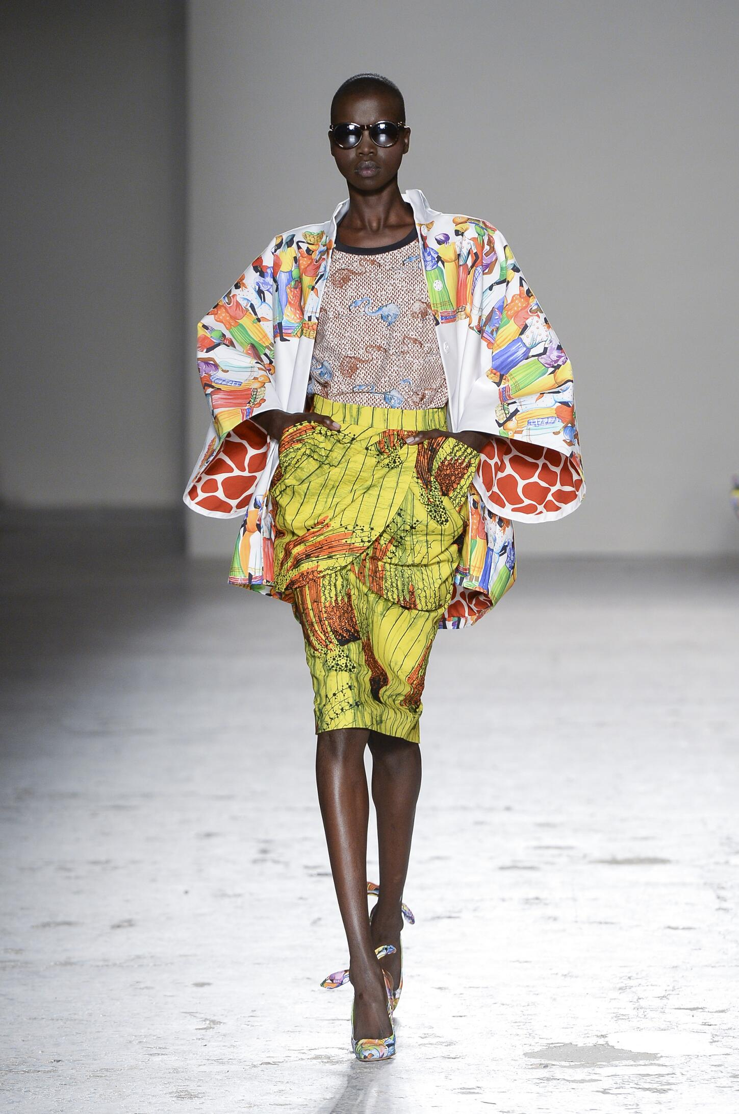 Stella Jean Spring Summer 2015 Womens Collection Milan Fashion Week